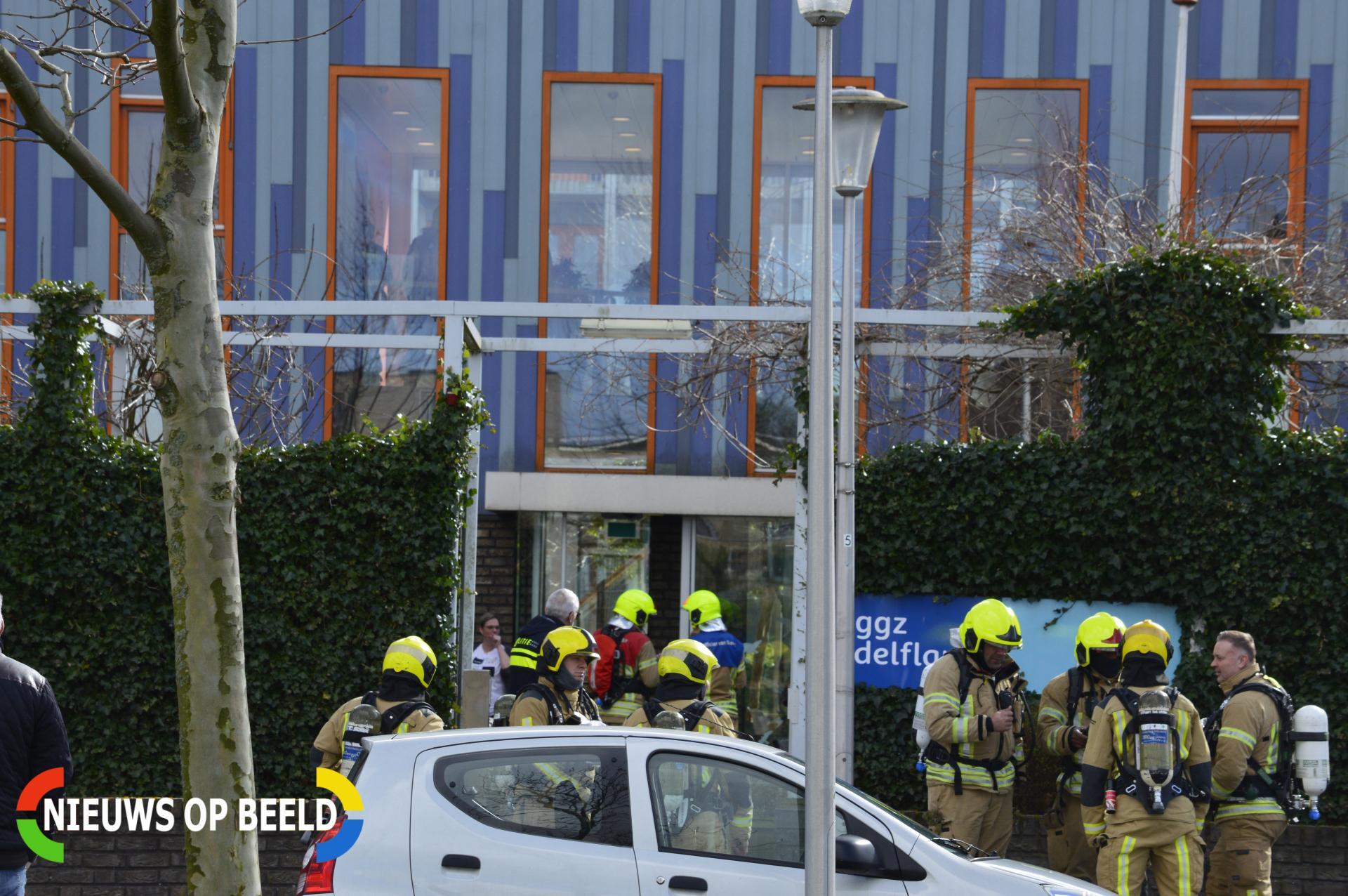 Brand in slaapkamer van GGZ-instelling IJsselstraat Berkel en Rodenrijs