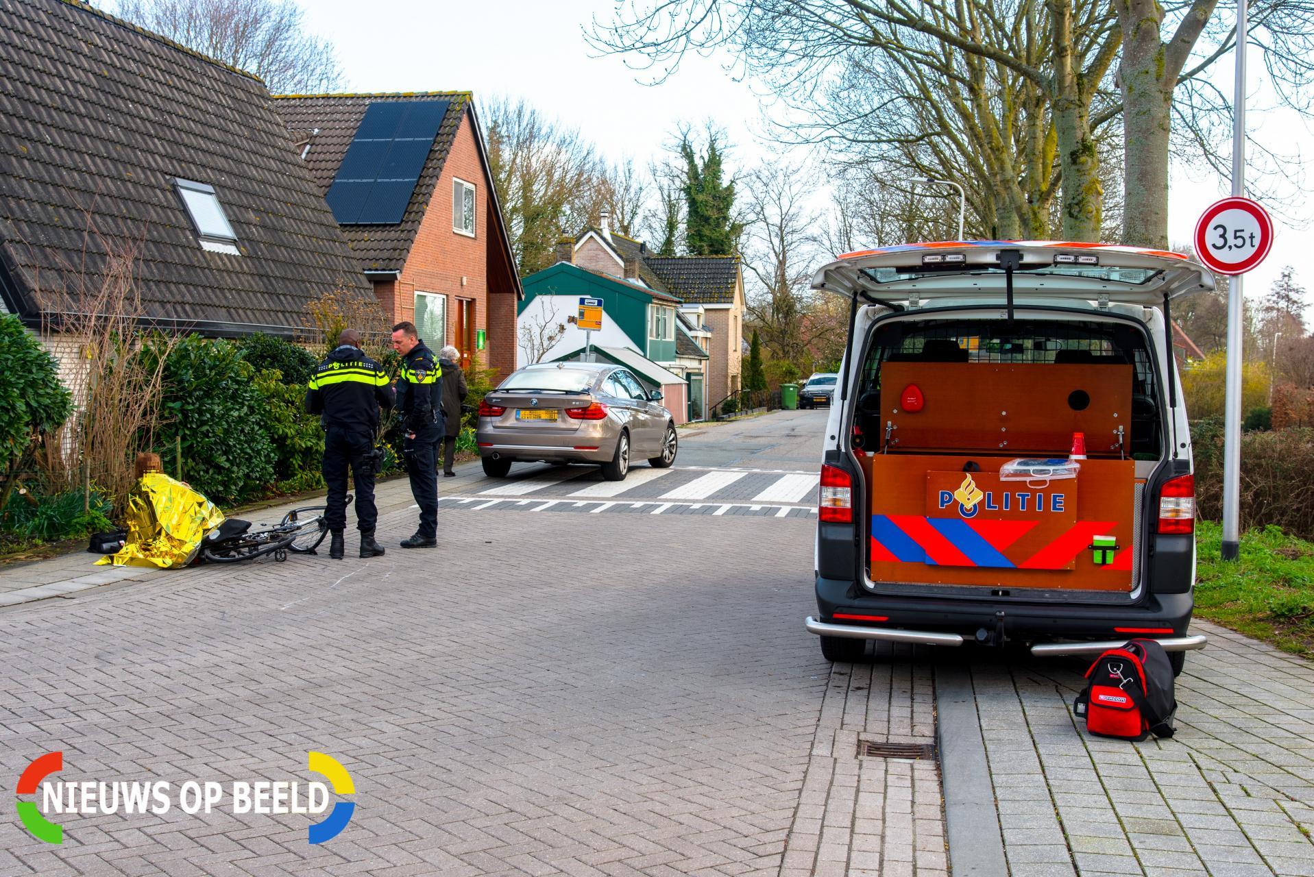 Fietsster gewond na botsing met auto Tijsjesdijk Rhoon