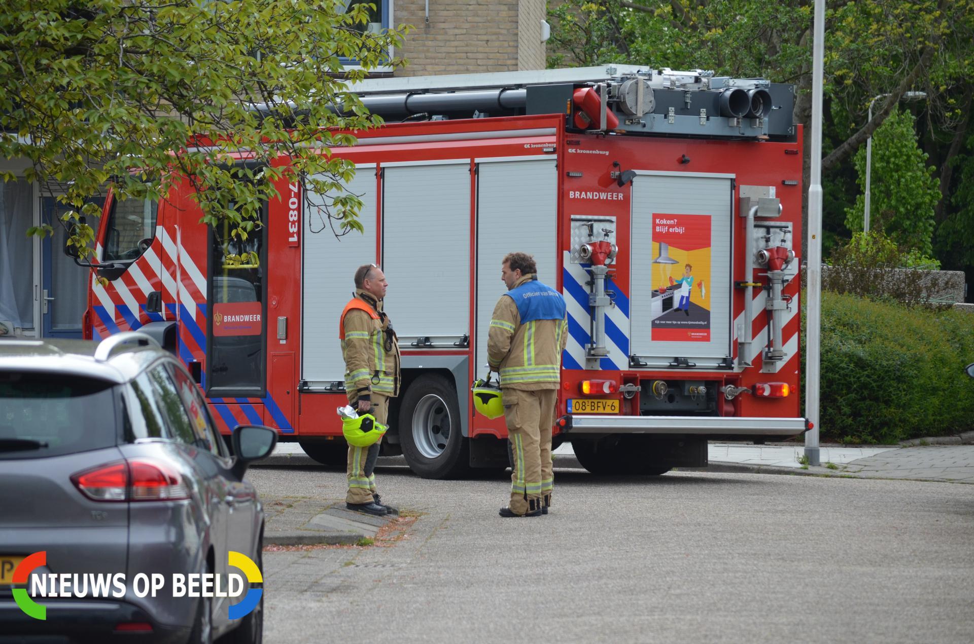 Brandweer verricht metingen na penetrante lucht De Wielewaal Bleiswijk