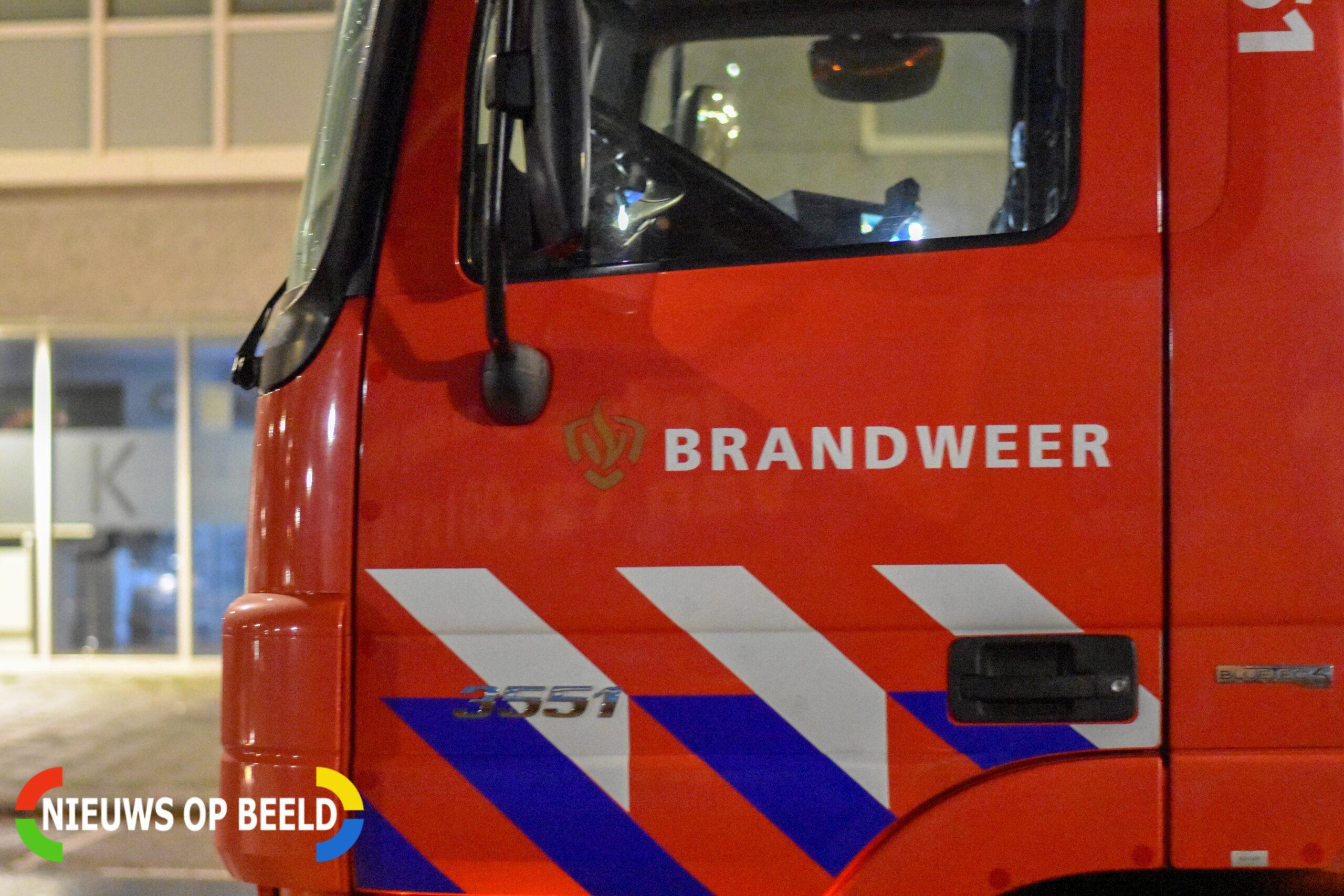 Kleine brand in elektrische scooter Radarstraat Capelle aan den IJssel