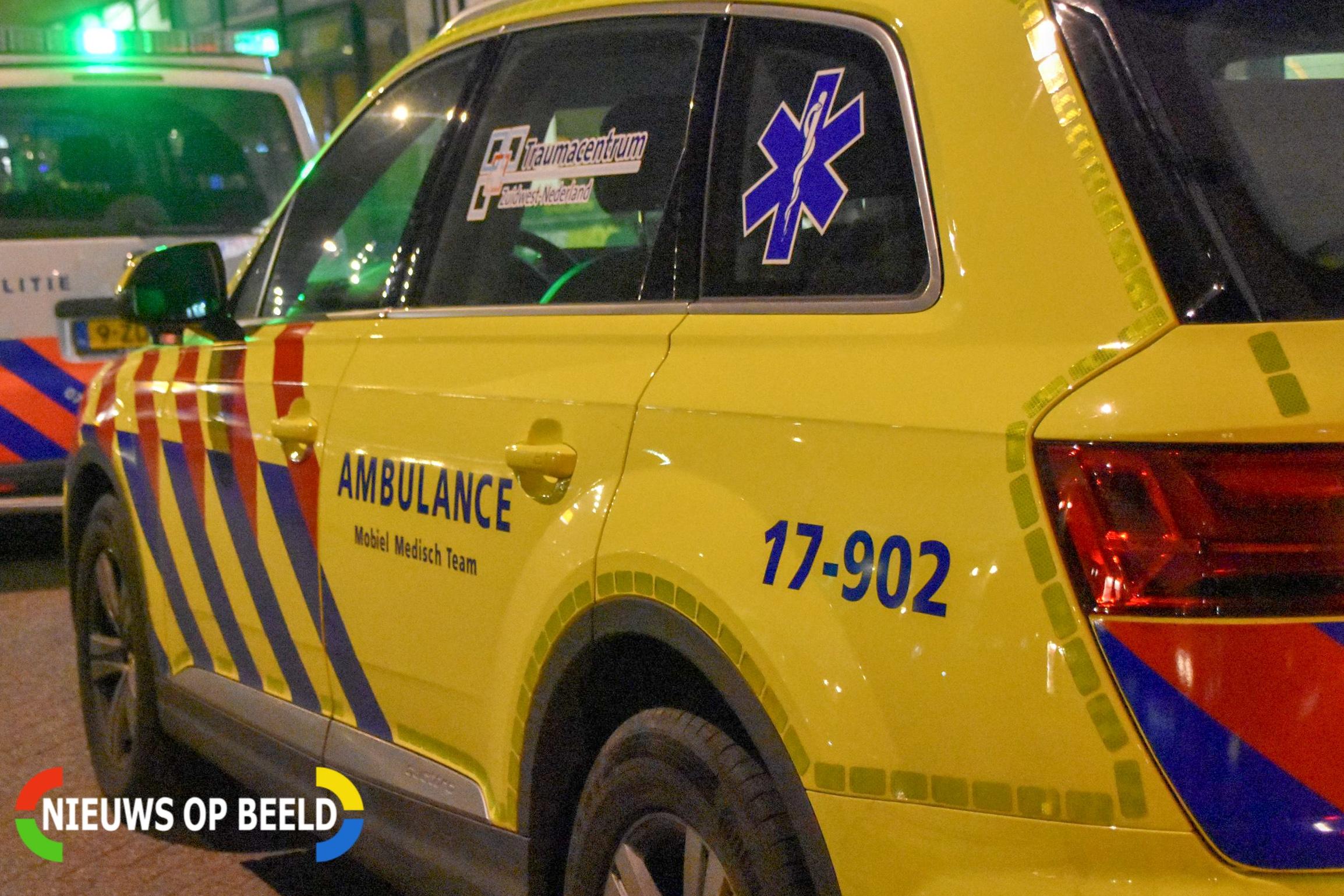 Twee slachtoffers bij zwaar scooterongeluk Bentincklaan Rotterdam