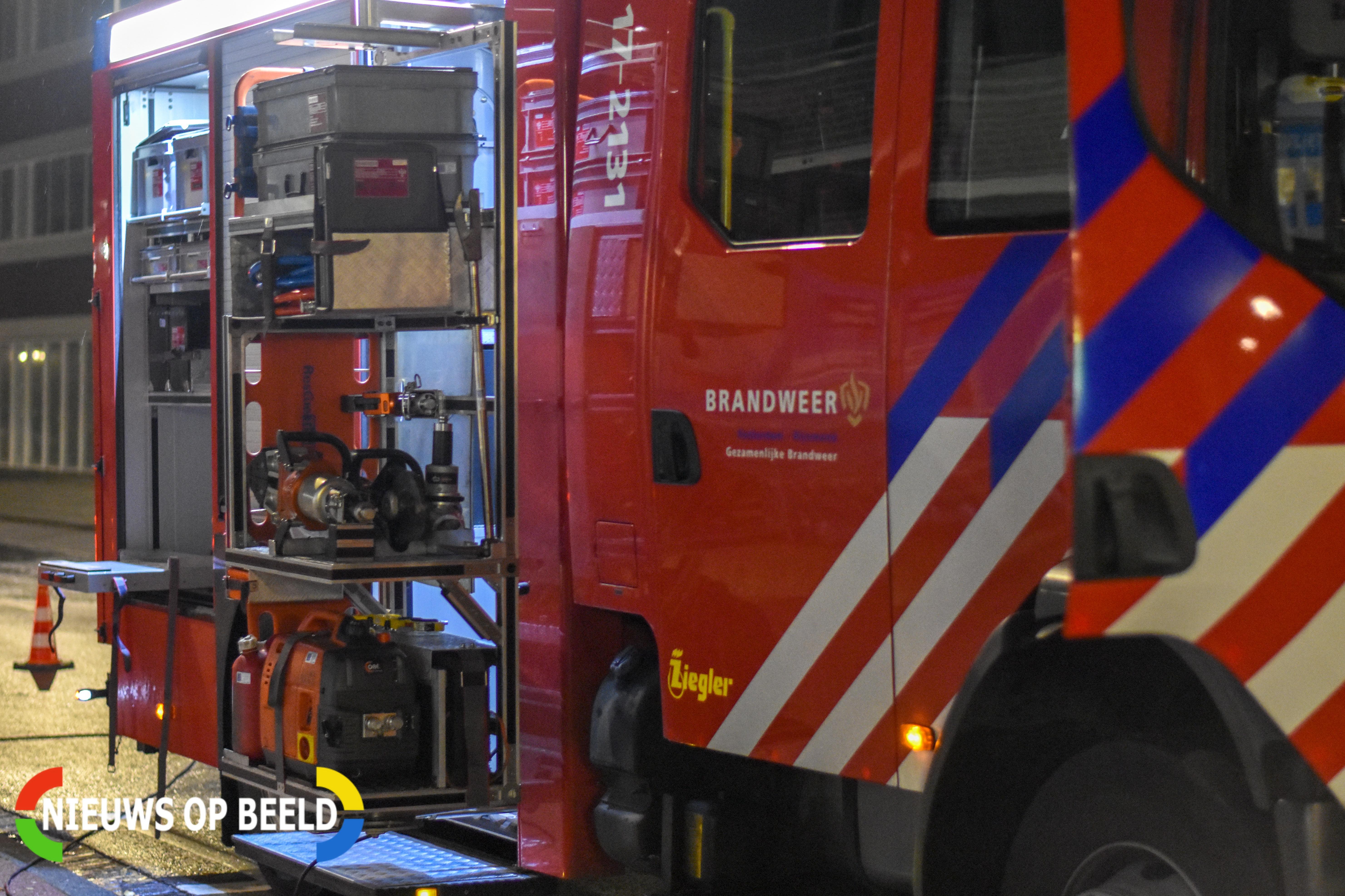 Zeer grote brand in centrum Dordrecht
