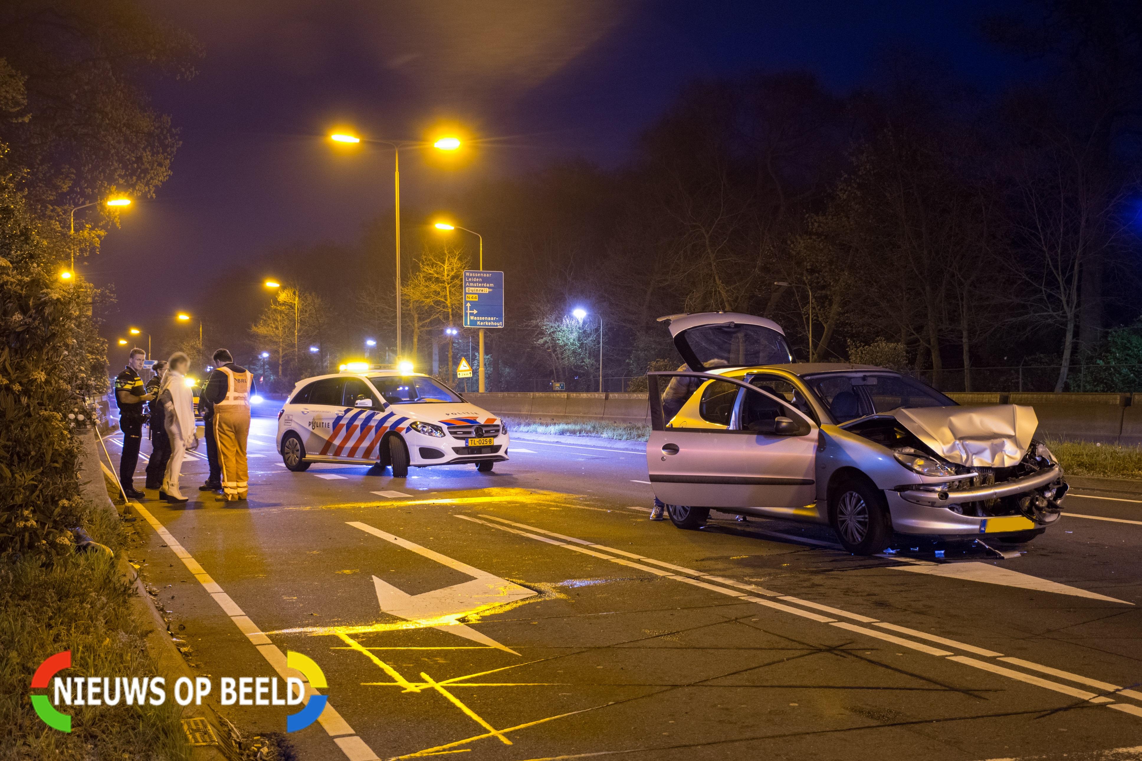Automobiliste aangehouden na ongeval op Rijksstraatweg Wassenaar