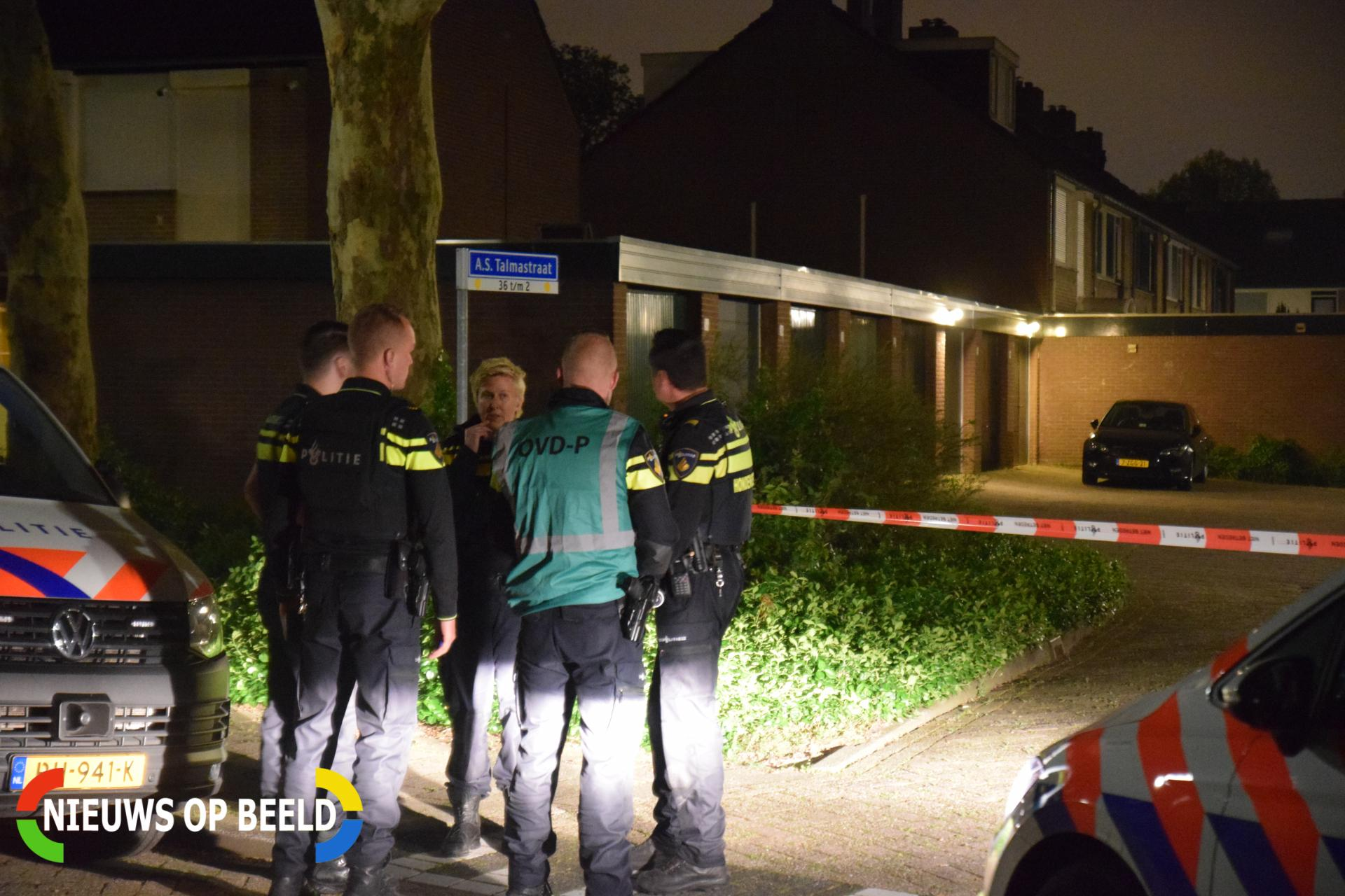 Man overvallen in woning J.R. Thorbeckesingel Papendrecht