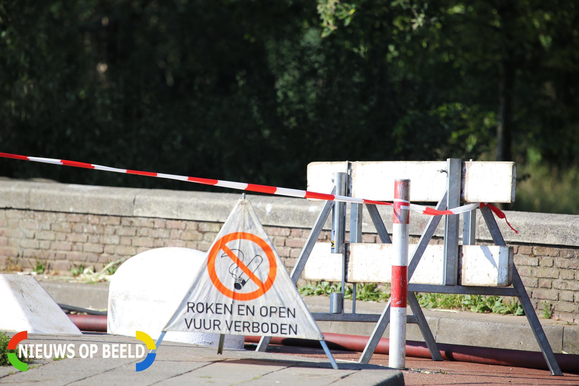 Gasleiding geraakt bij graafwerkzaamheden Drieëndijk Heenvliet