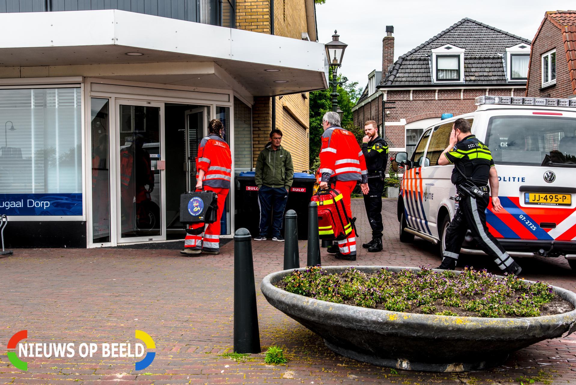 Mobiel medische team ingezet bij huisartsenpraktijk Kikkerstraat Poortugaal