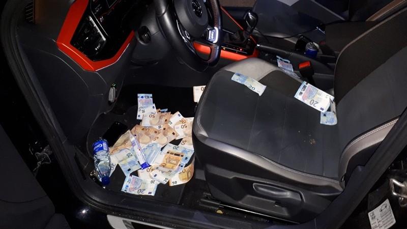 Fransmannen gepakt met 34.000 euro na wilde achtervolging