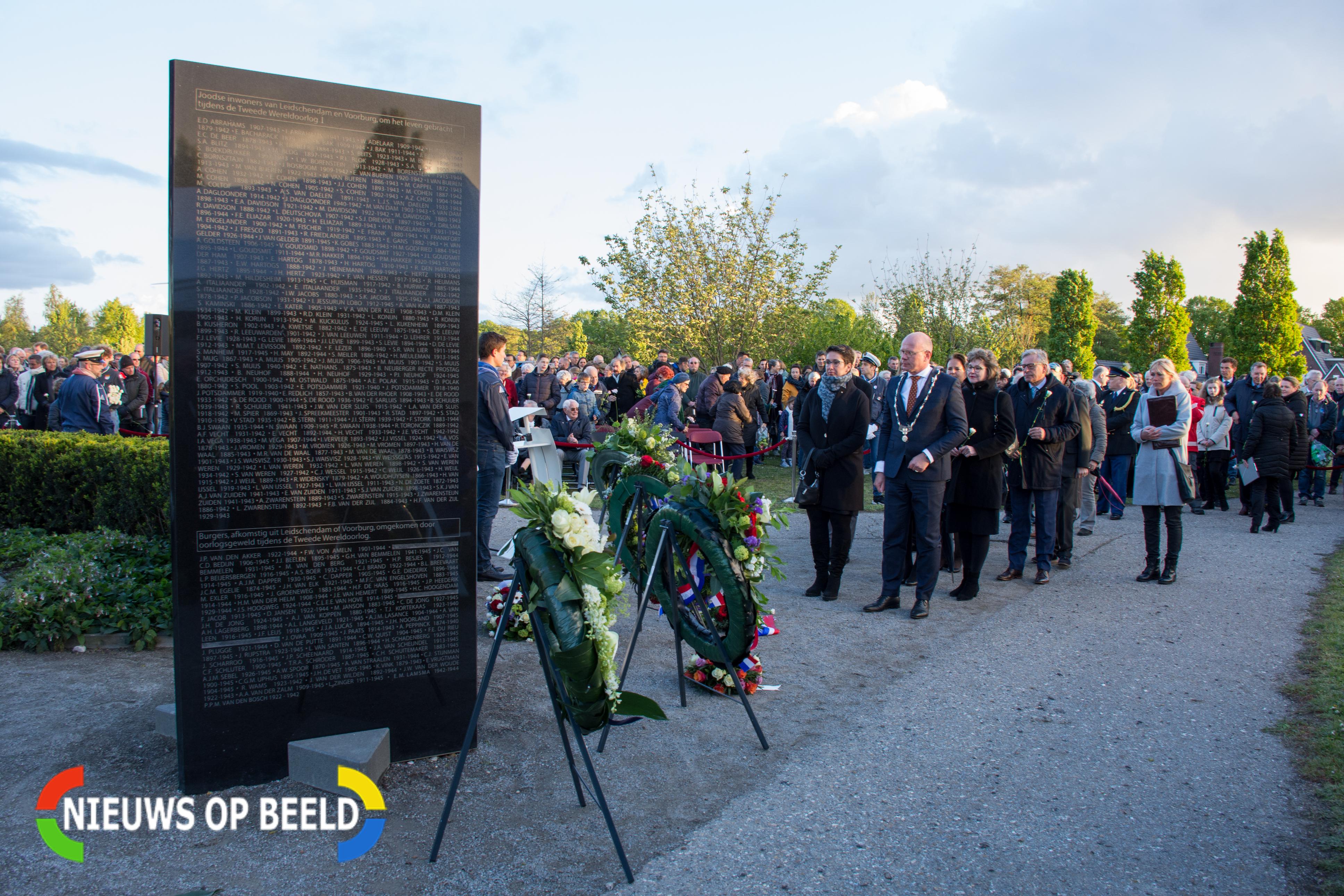 Meerdere herdenkingsceremonies in Leidschendam-Voorburg