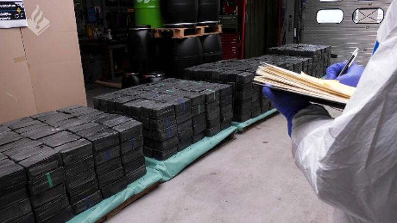 Recordhoeveelheid Crystal Meth aangetroffen in Rotterdams bedrijfspand