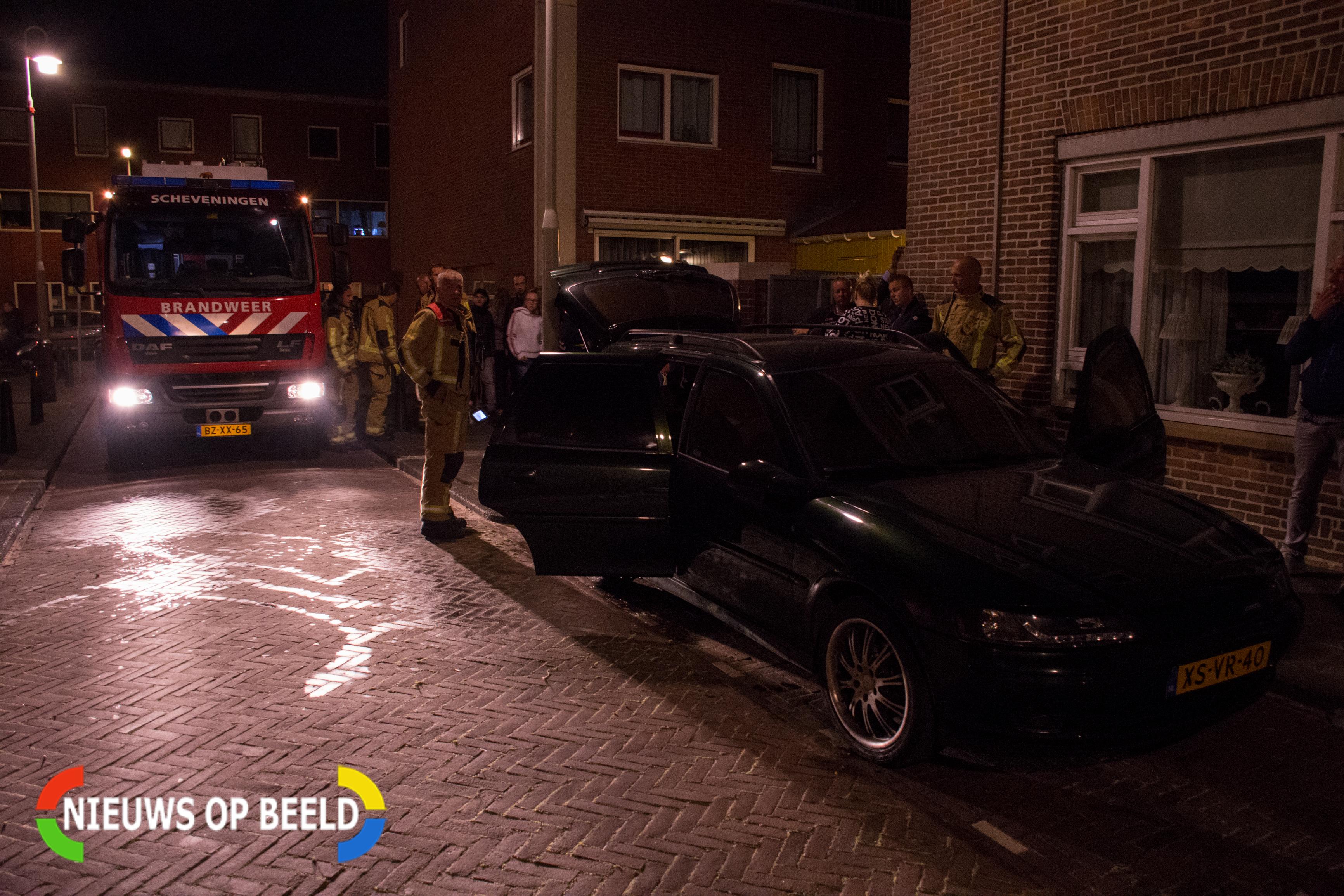 Auto in brand gestoken in Duindorp