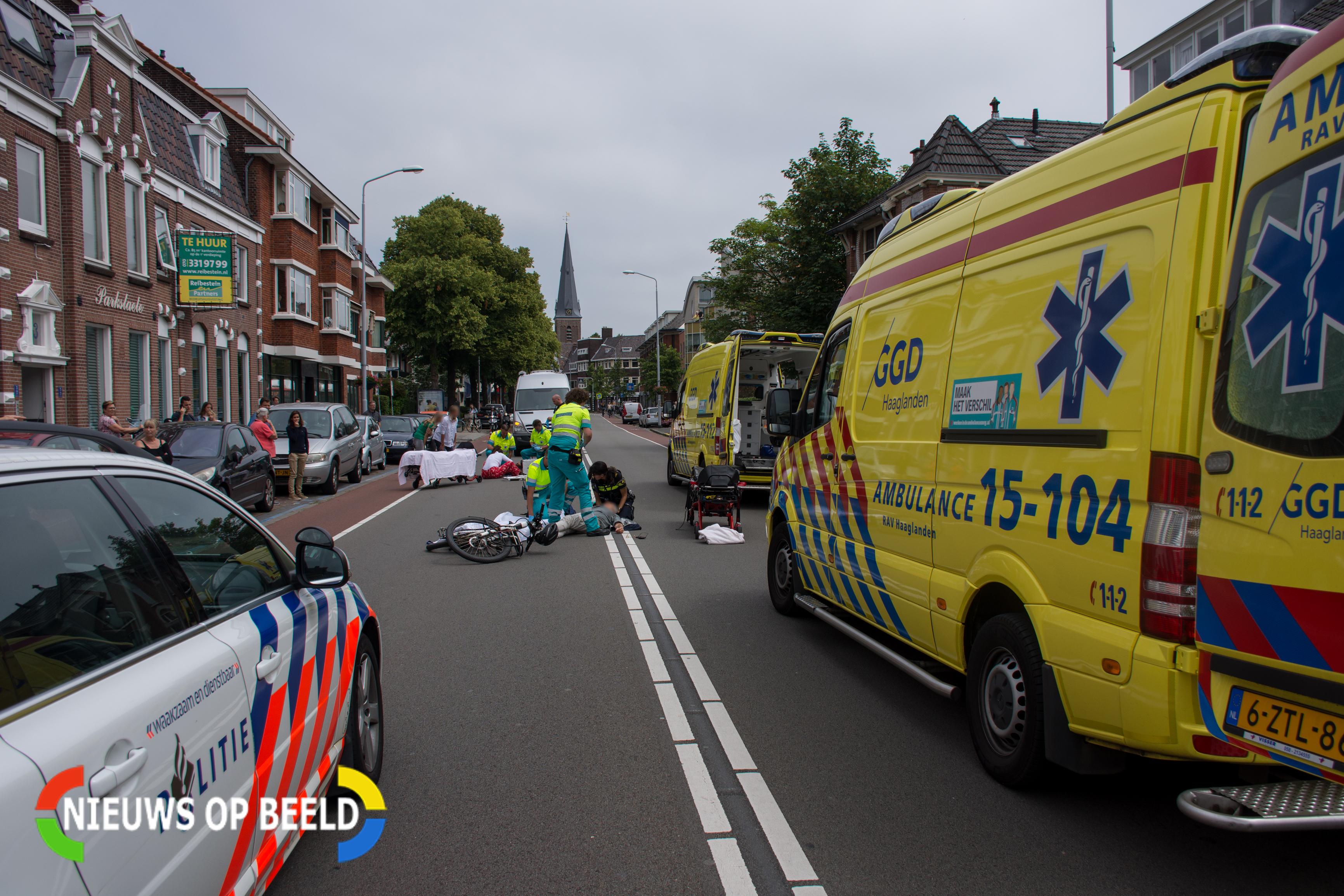 Twee gewonden na botsing voetganger en Speed-Pedelec