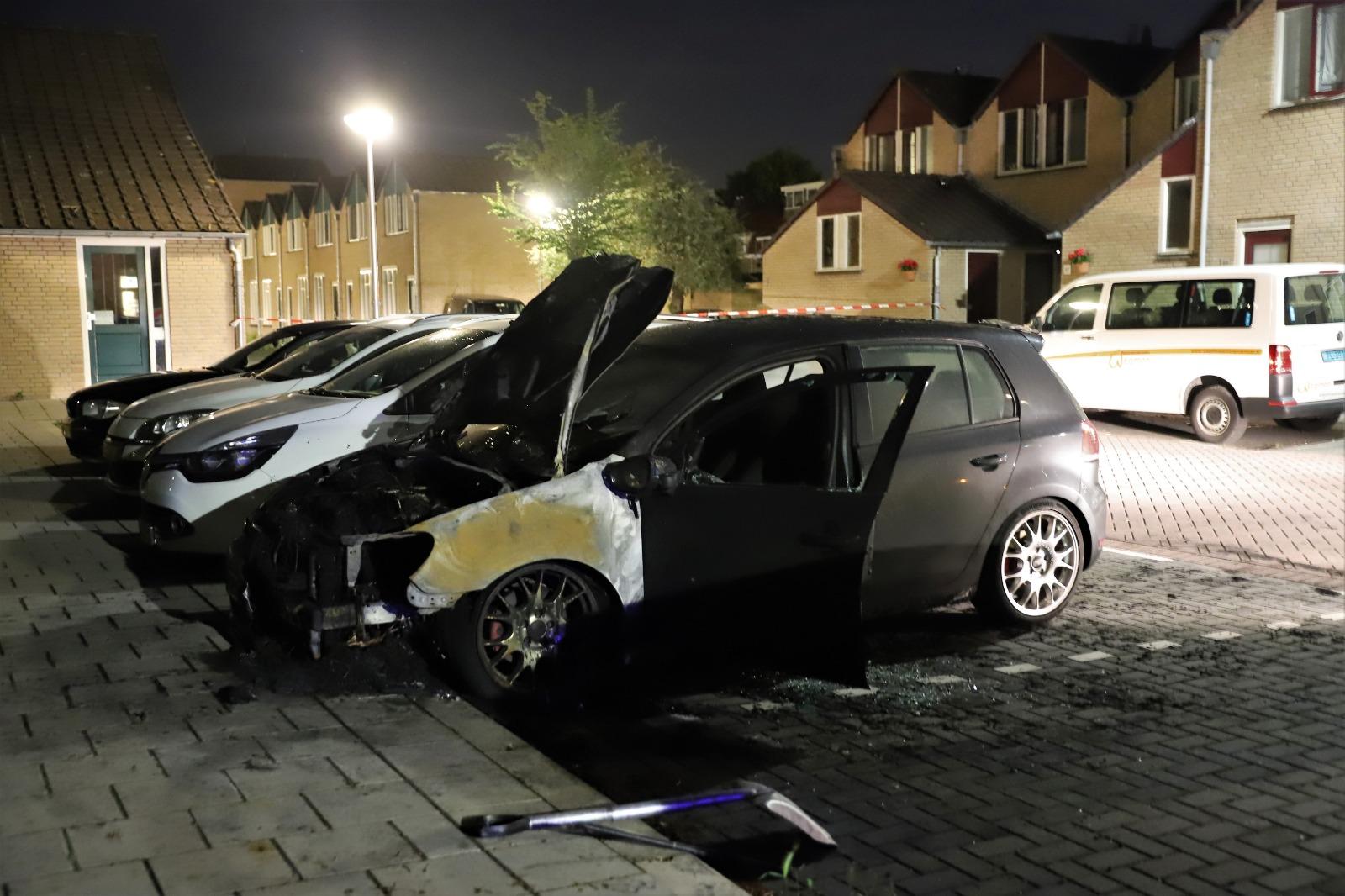 Na drie weken rust toch weer autobrand in Gouda