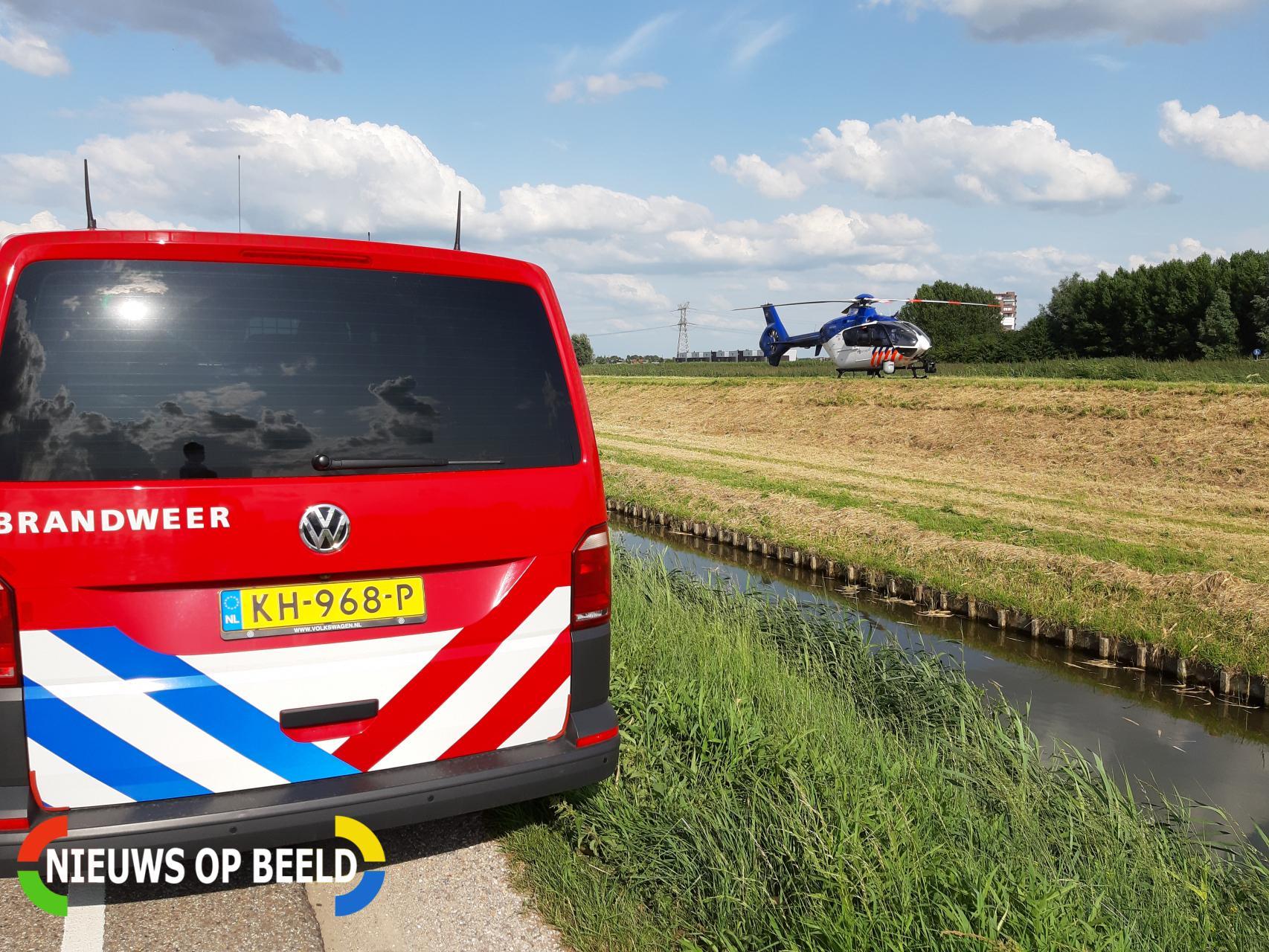 Grote zoekactie na vondst twee loopfietsen Middelweg Zevenhuizen