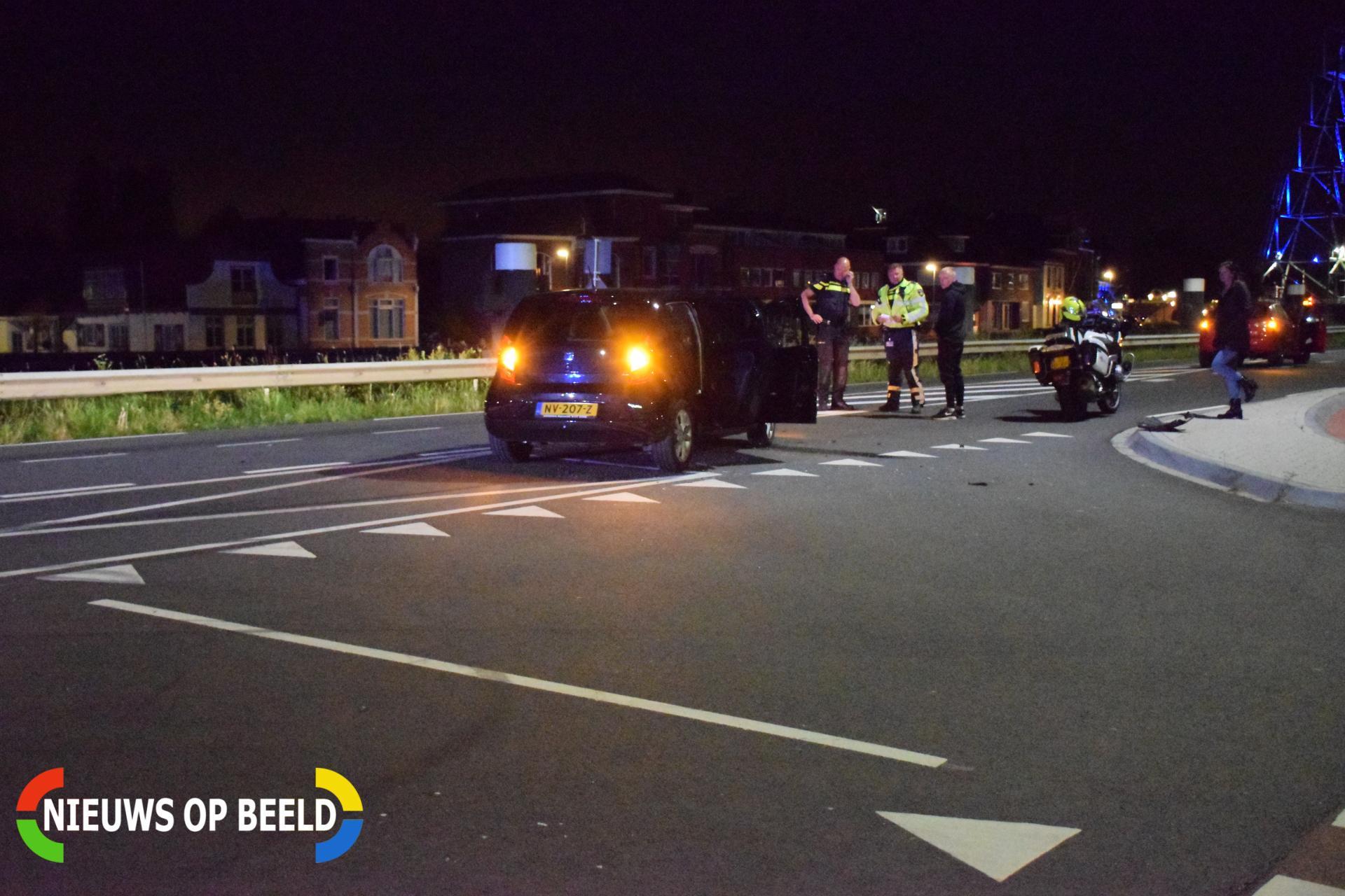 Schade na aanrijding op kruising Henegouwerweg – N207 Waddinxveen