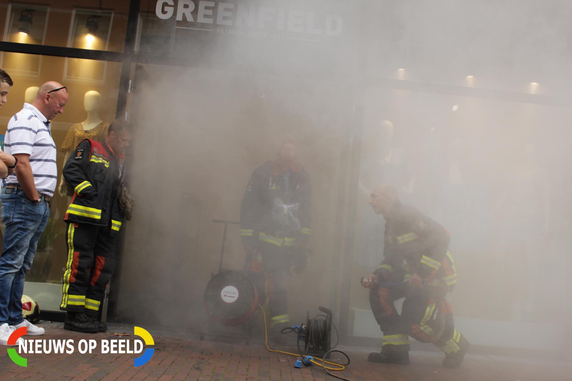 Brand blijkt anti-inbraak rookmachine Promenade Waddinxveen