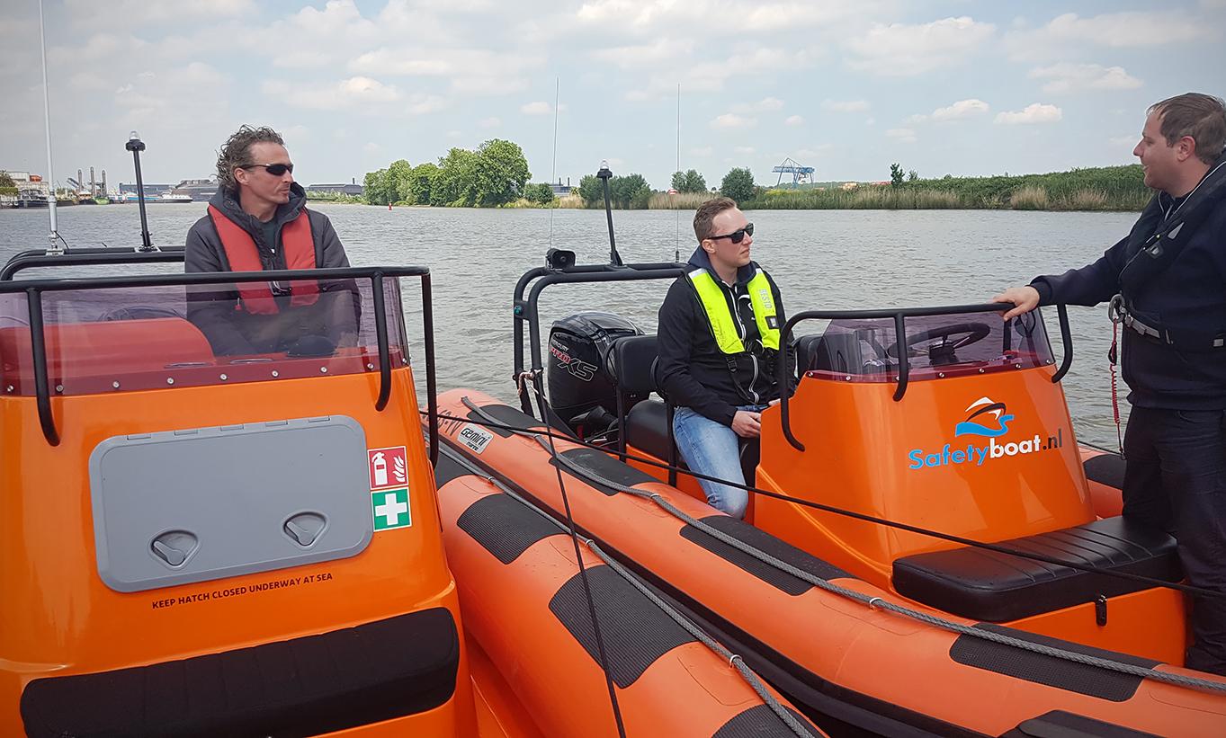 Safetyboat komt met vaartrainingen voor hulpverleners