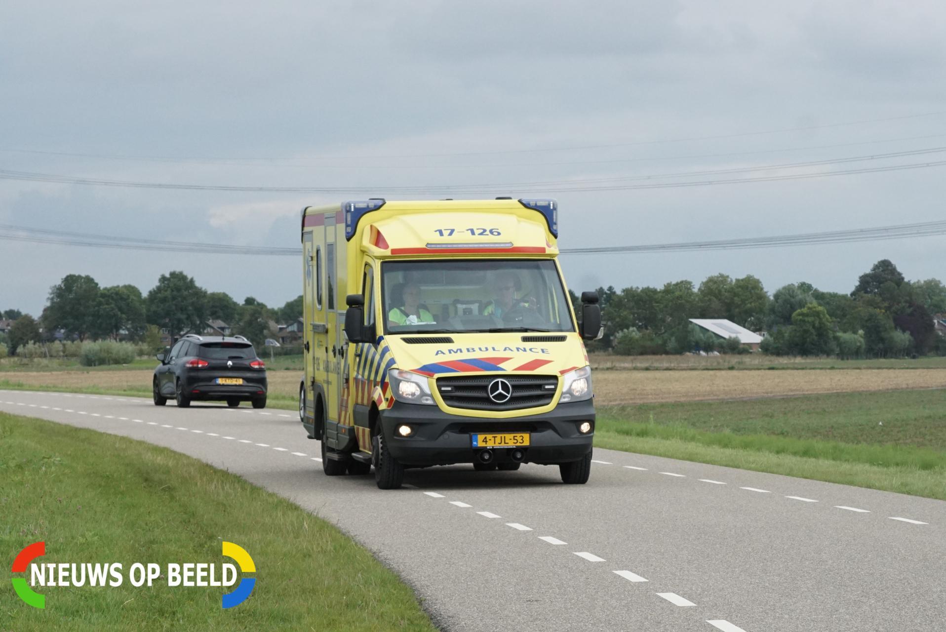 Persoon gewond na val in water Nely Gambonplein Zevenhuizen