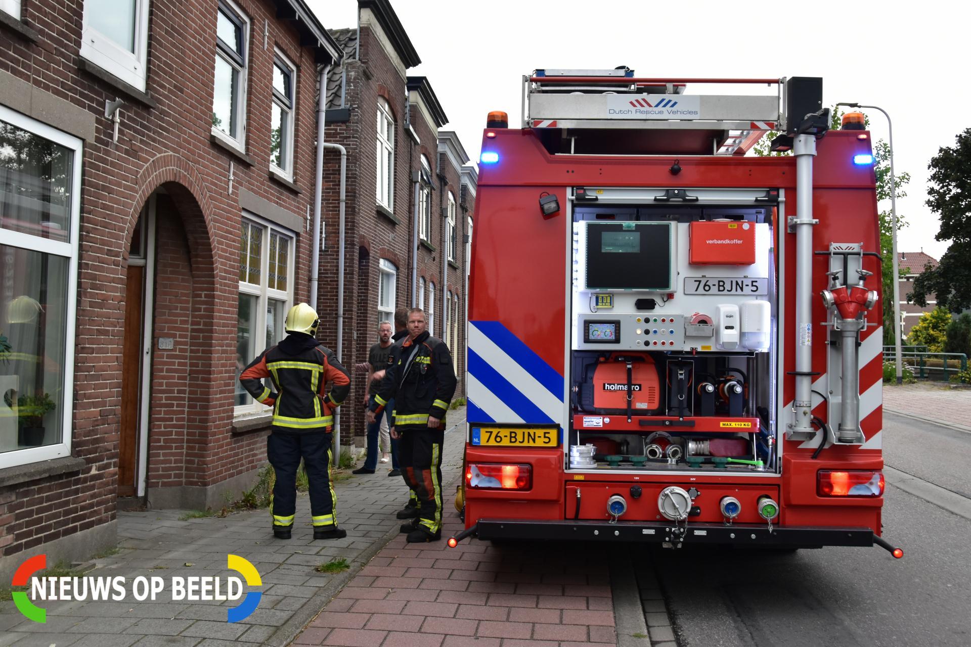 Brand in meterkast voor de hoofdzekering Weteringpad Boskoop