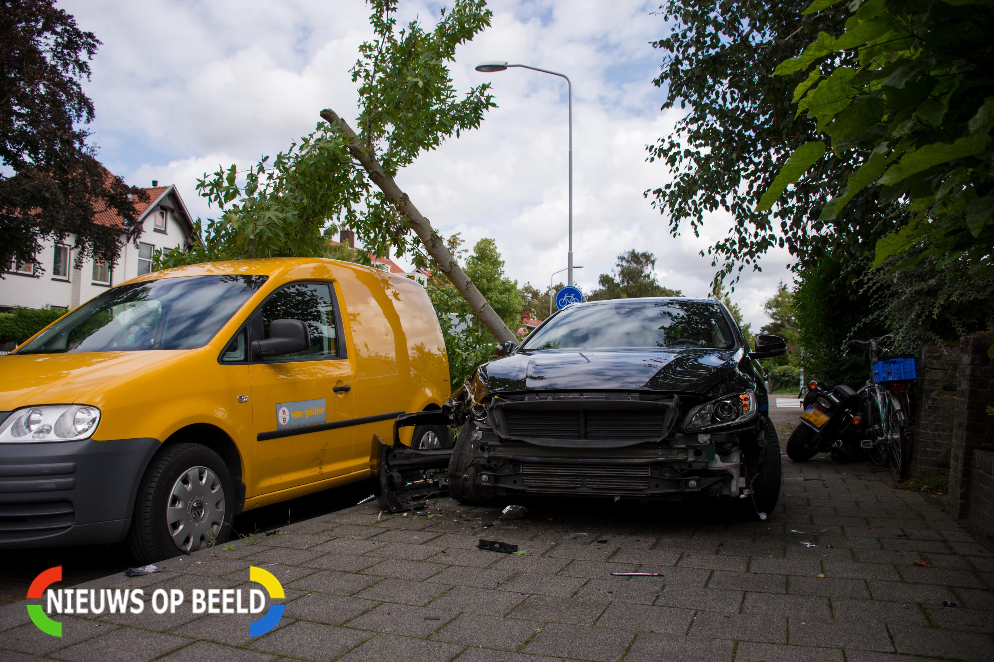 Ravage na ongeval in Leidschendam