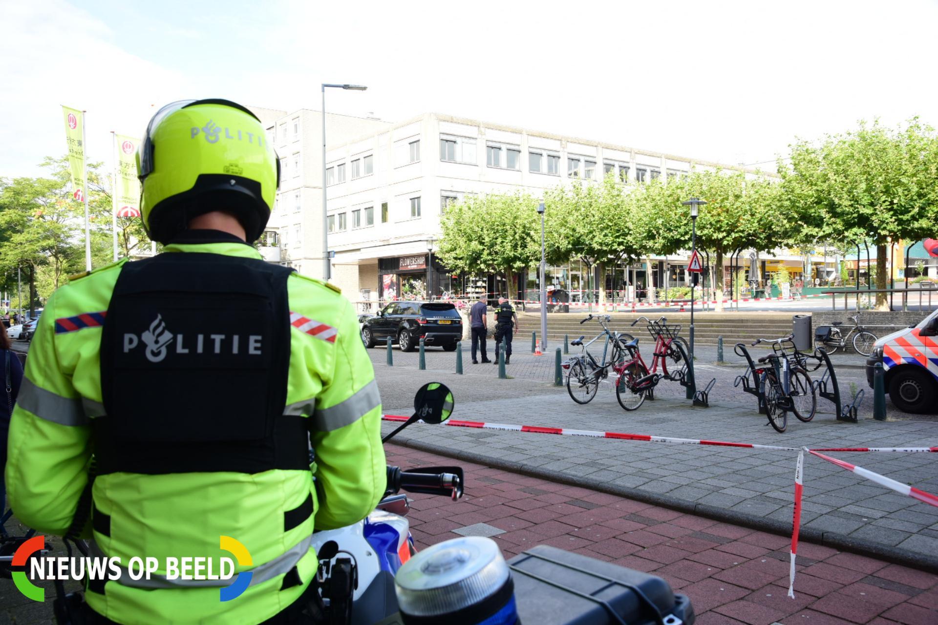 Politie houdt 31-jarige Rotterdamse aan voor schietpartij Rotterdam Alexander