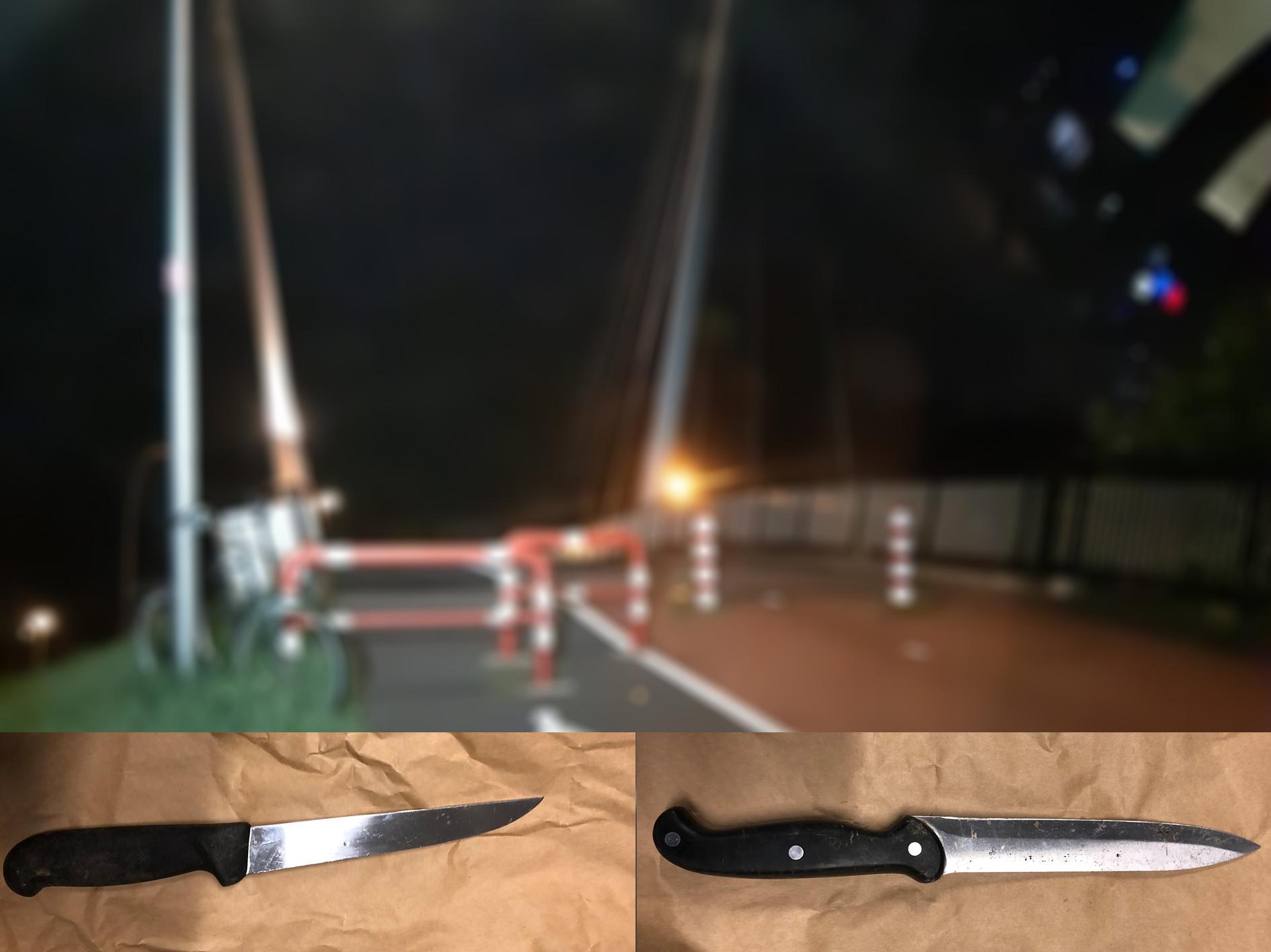 Beoogde slachtoffers overmeesteren gewapende straatrovers Barendrecht; Politie op zoek naar slachtoffers