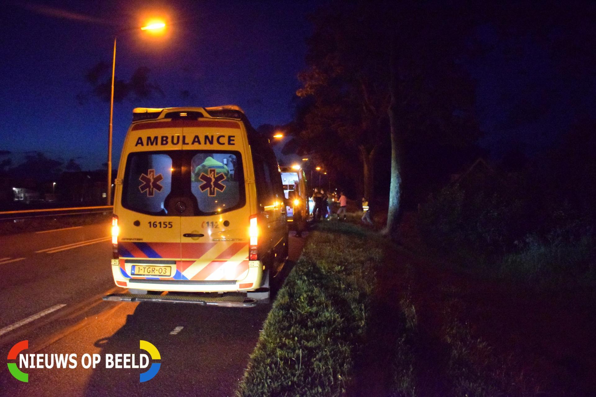 Scooterrijder en fietser gewond na ongeval Henegouwerweg – N207 Waddinxveen