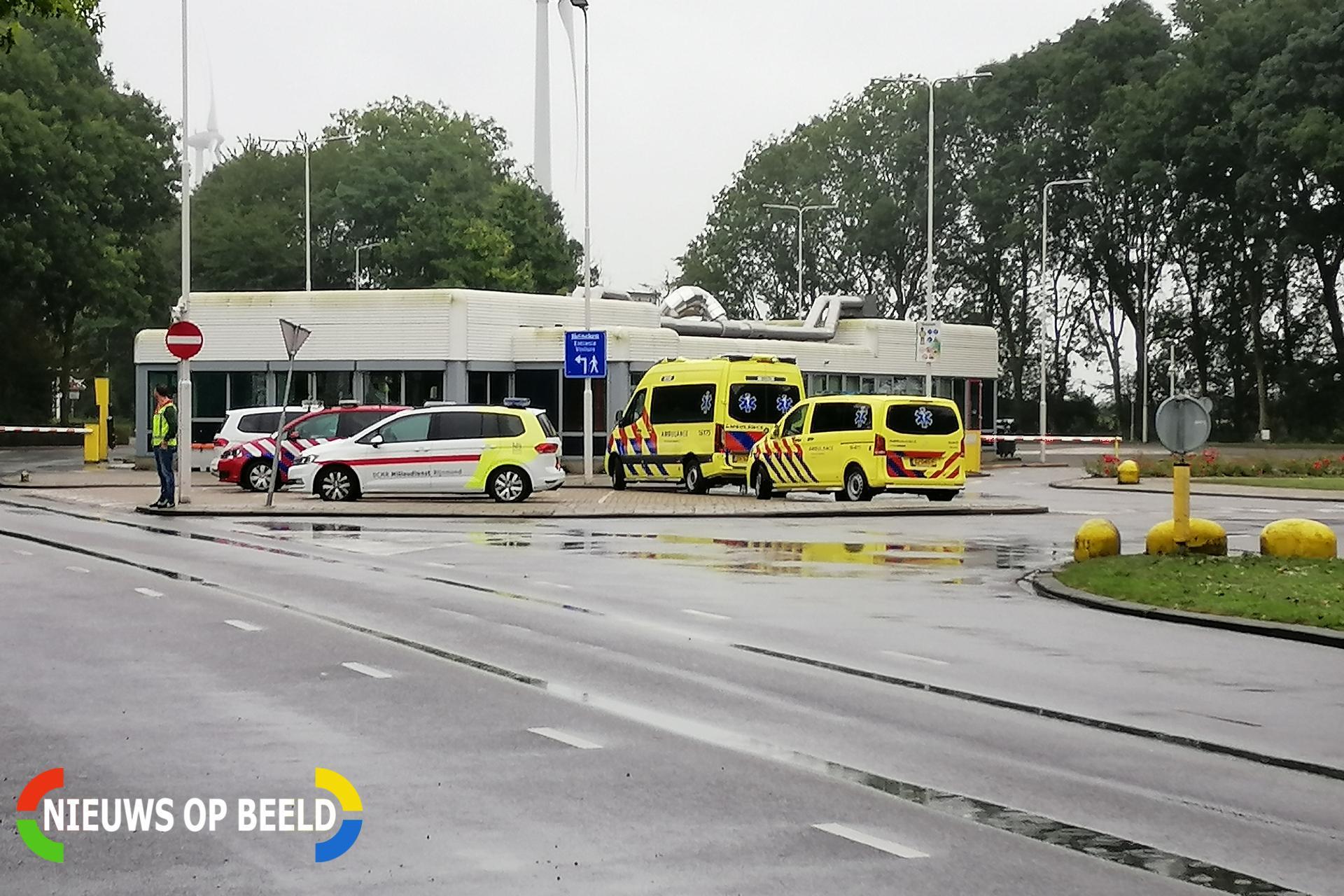 'Ongewenste' chemische reactie bij Heineken aan Doctor H.P. Heinekenweg Zoeterwoude