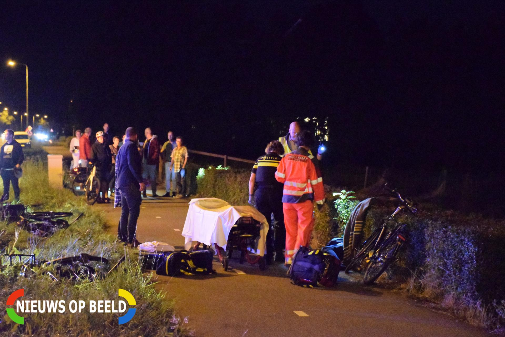 Gewonde fietser na ongeluk Noordeinde – N455 Waddinxveen