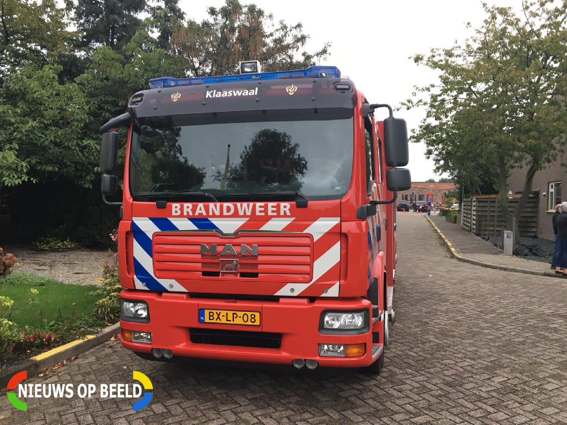 Woningen ontruimd na gaslekkage van Gaesbeekstraat Westmaas