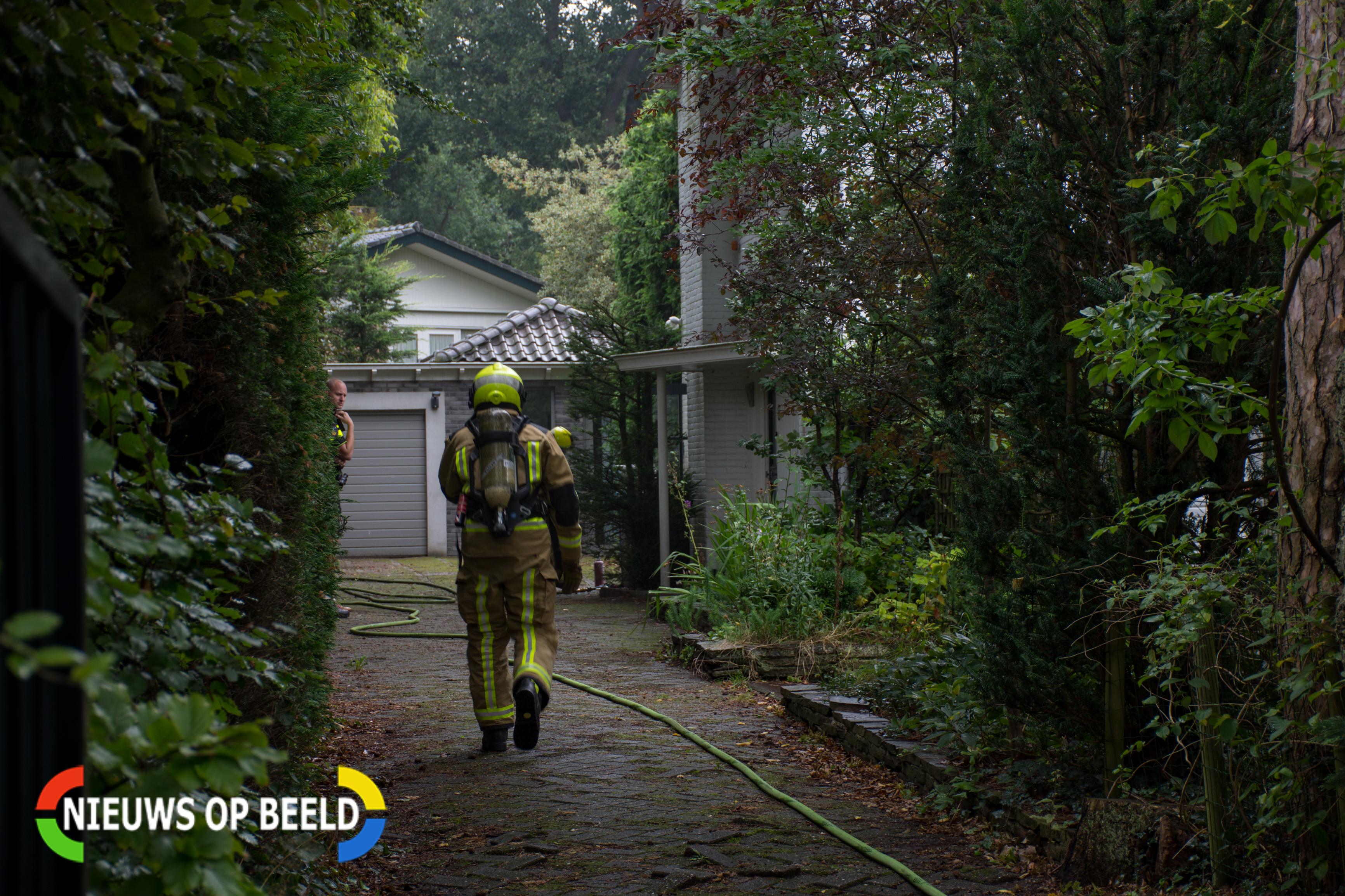 Vriezer vliegt in brand in Wassenaarse woning