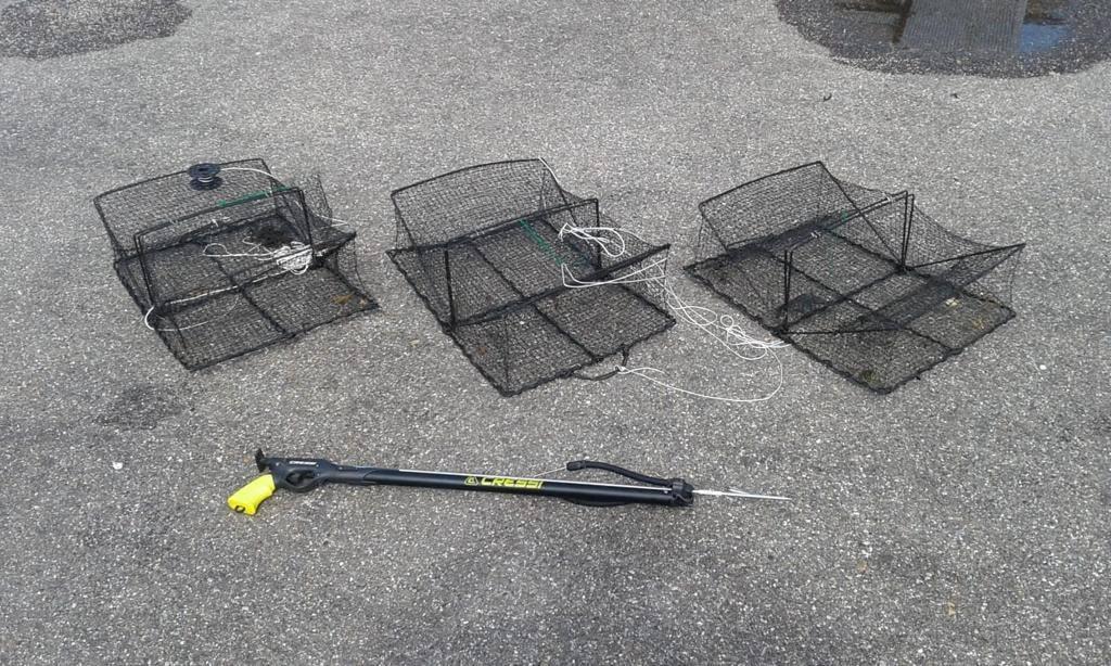 Illegale visstropers betrapt in Grevenlingenmeer