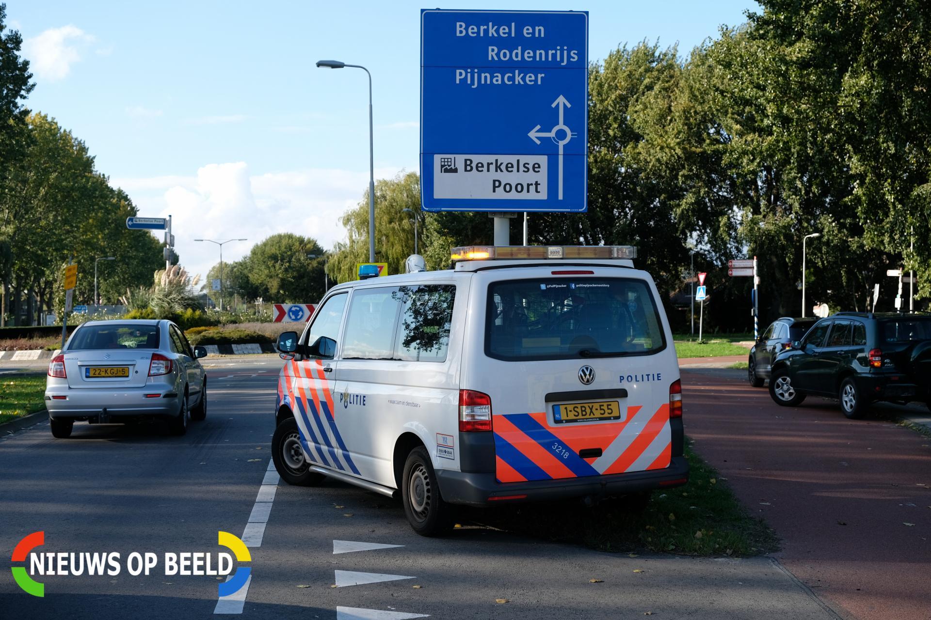 Drie voertuigen betrokken bij kop-staart botsing Boterdorpseweg – N472 Bergschenhoek