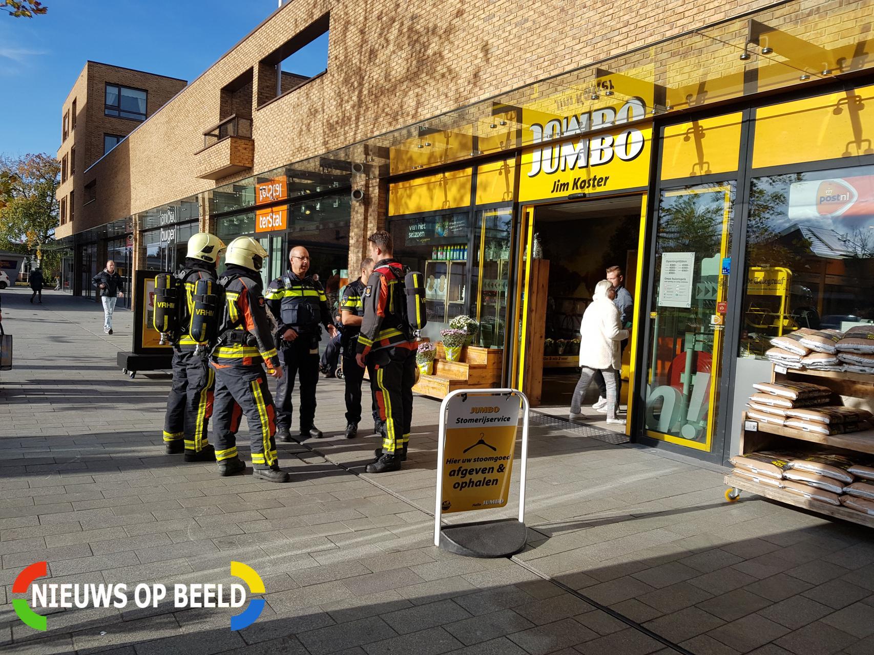 Brandweer onderzoekt melding van gaslucht Miereakker Reeuwijk