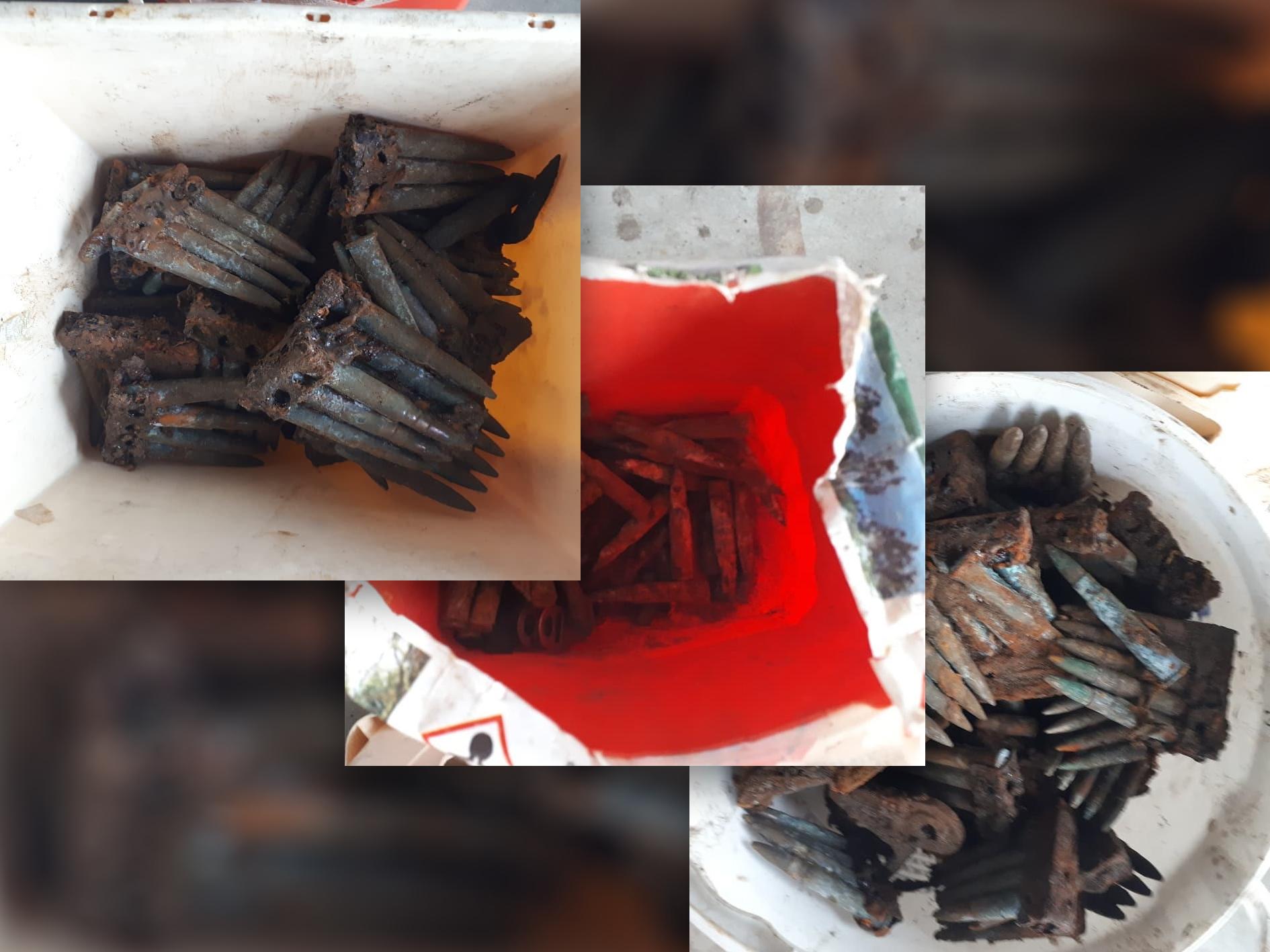 Zoeterwoudse metaaldetectorist neemt gevonden munitie mee naar huis