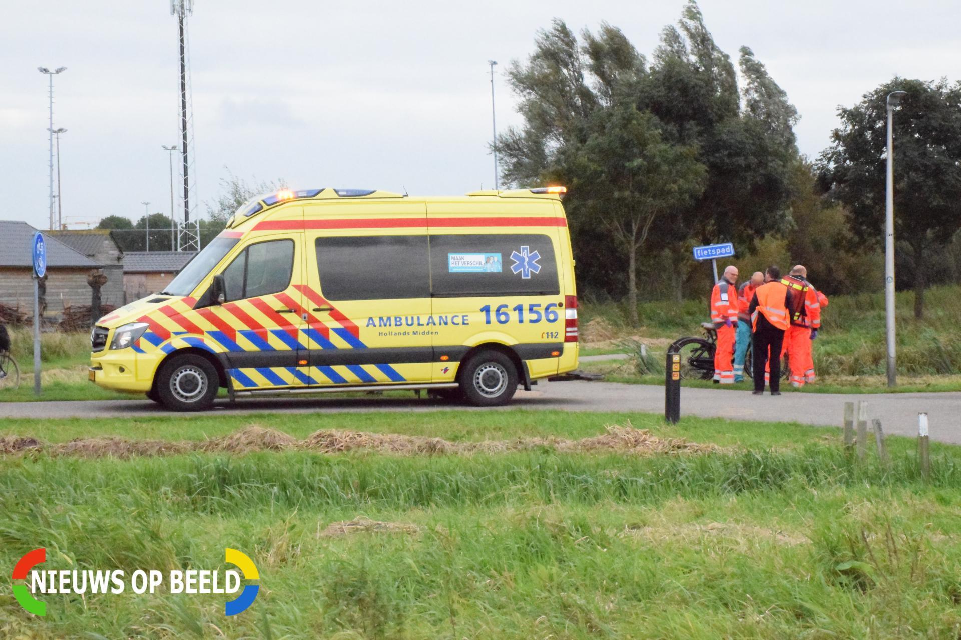 Kind zwaargewond na val van fiets Groenezoompad Nieuwerkerk aan den IJssel