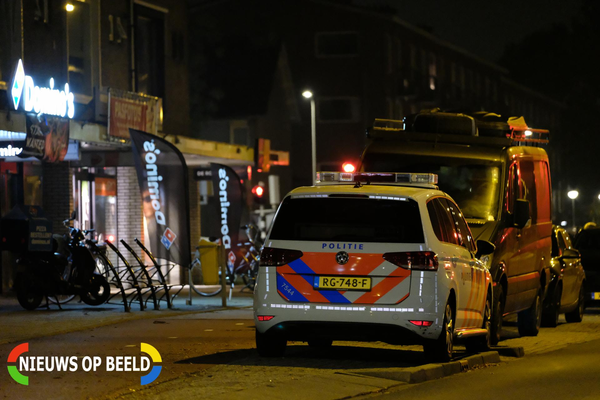 Overval op domino's pizza Koningin Wilhelminaplein – Kon. Wilhelminaplein Waddinxveen