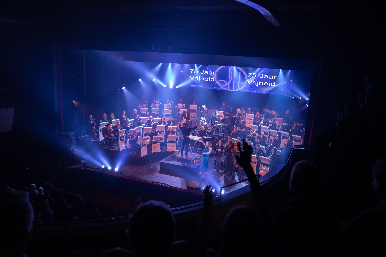 Geslaagde muzikale avond in Isala theater voor veteranen
