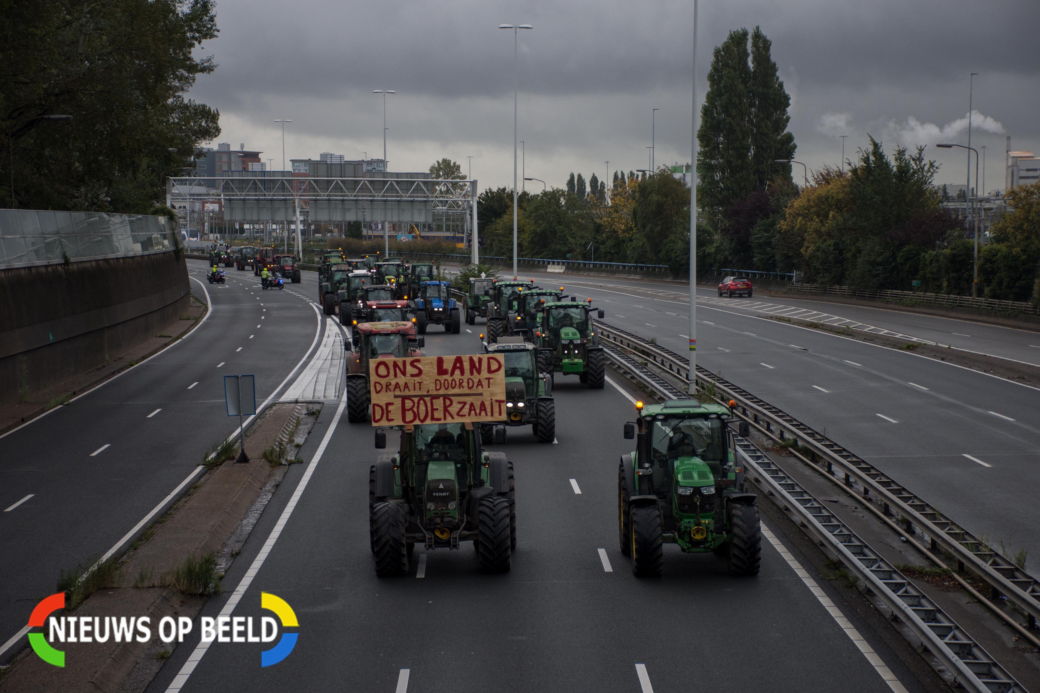 Drukkere ochtendspits verwacht door boerenprotesten