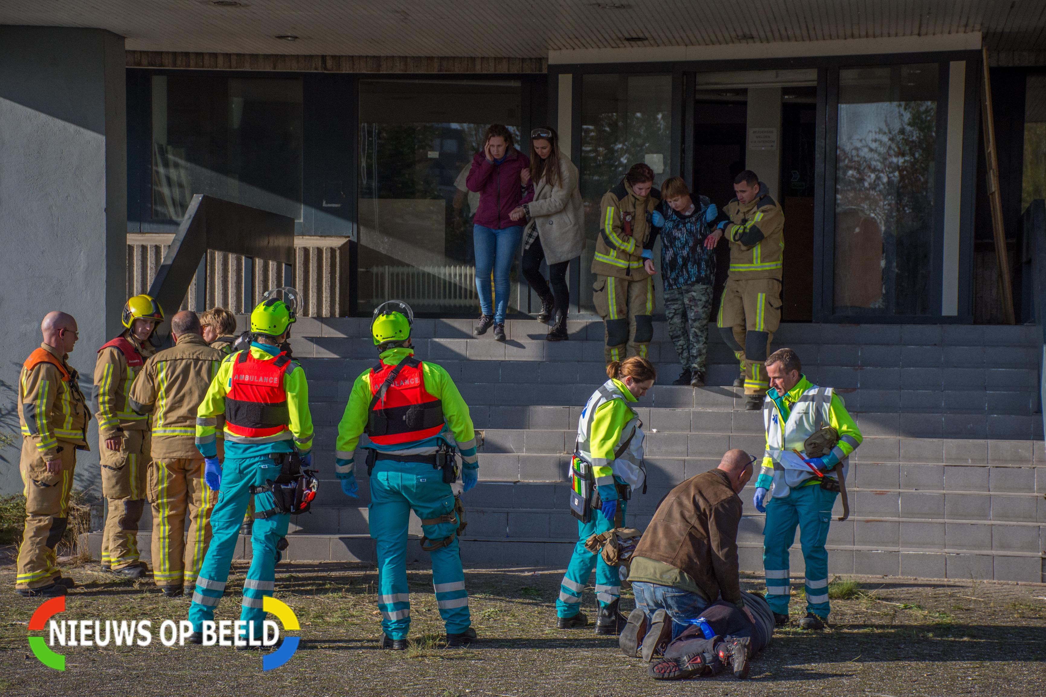 Grote integrale oefening van hulpdiensten in Voorburg