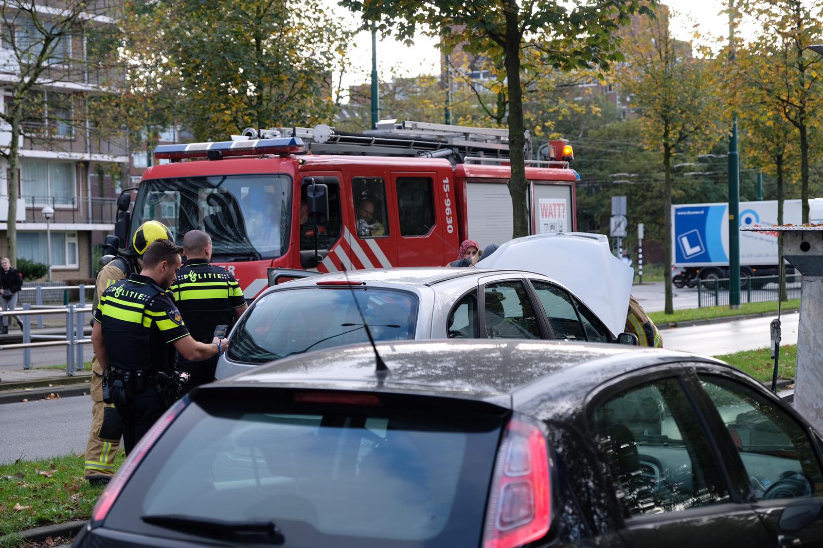 Autobrand blijkt enkel technisch mankement in Rijswijk
