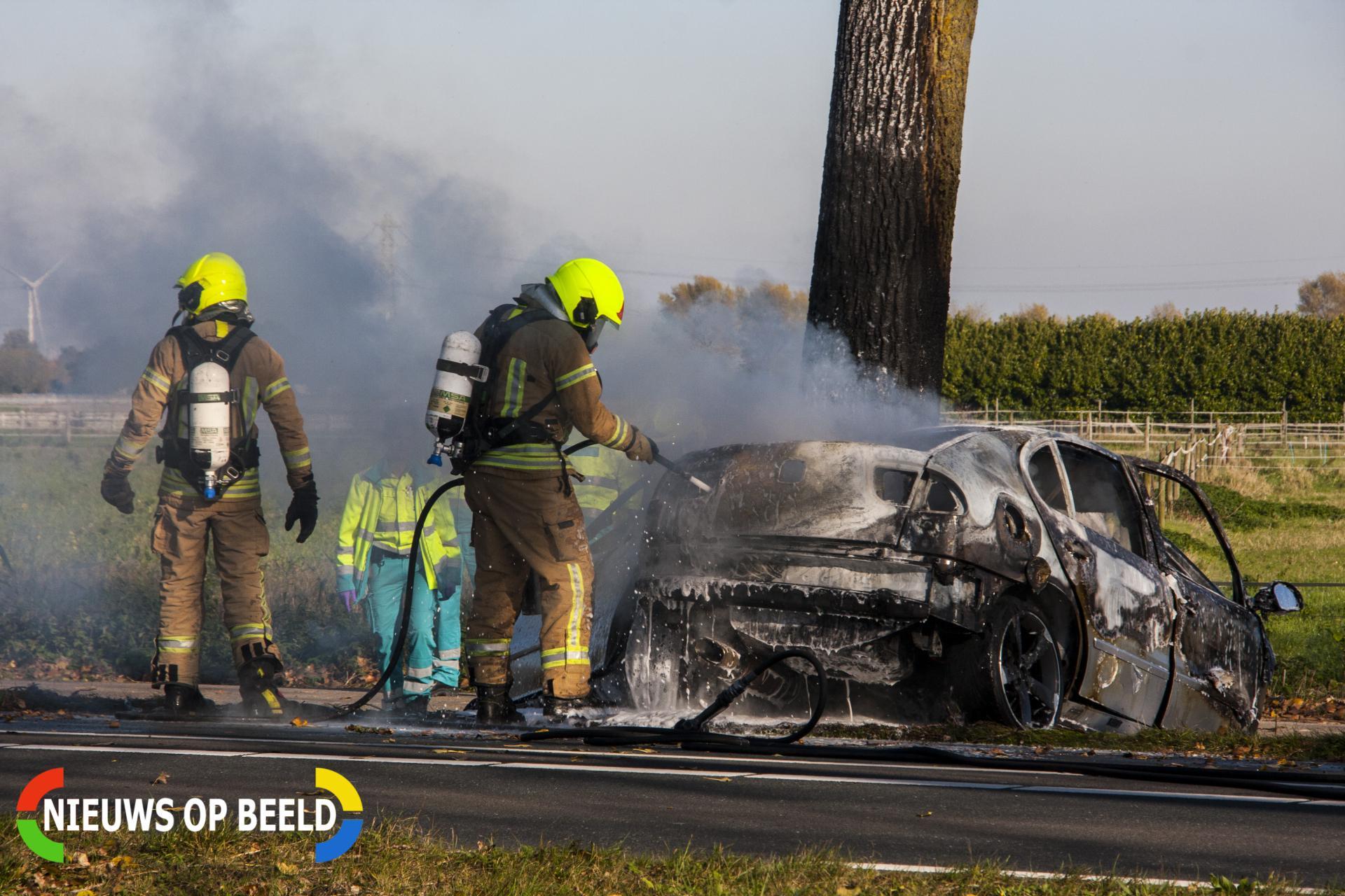 Dode na ernstig éénzijdig ongeval Nieuweweg Hellevoetsluis