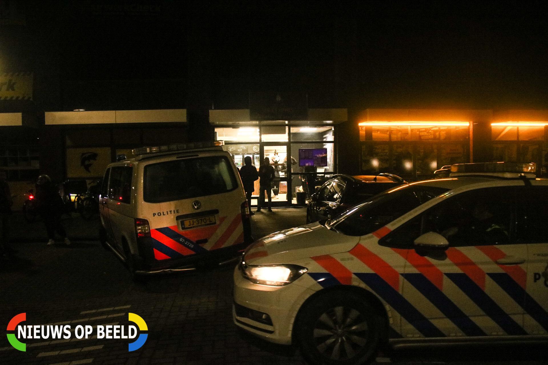 Onderzoek na overval bij Jack's Rippies Lindenstraat Spijkenisse