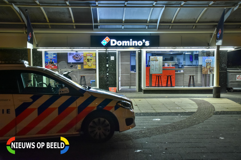 Gewapende overval op Voorburgs Domino's-filiaal