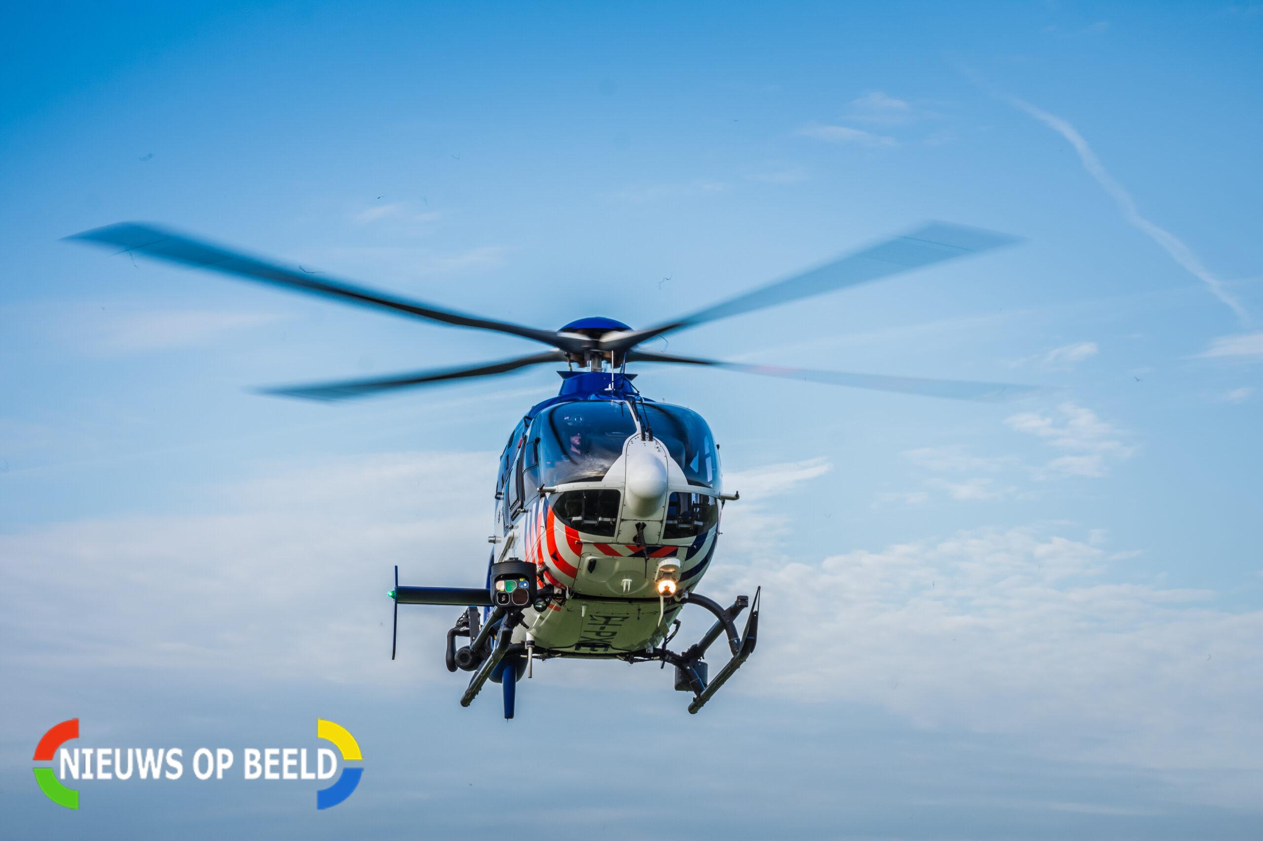 Politiehelikopter zoekt naar inbreker in Zoetermeer