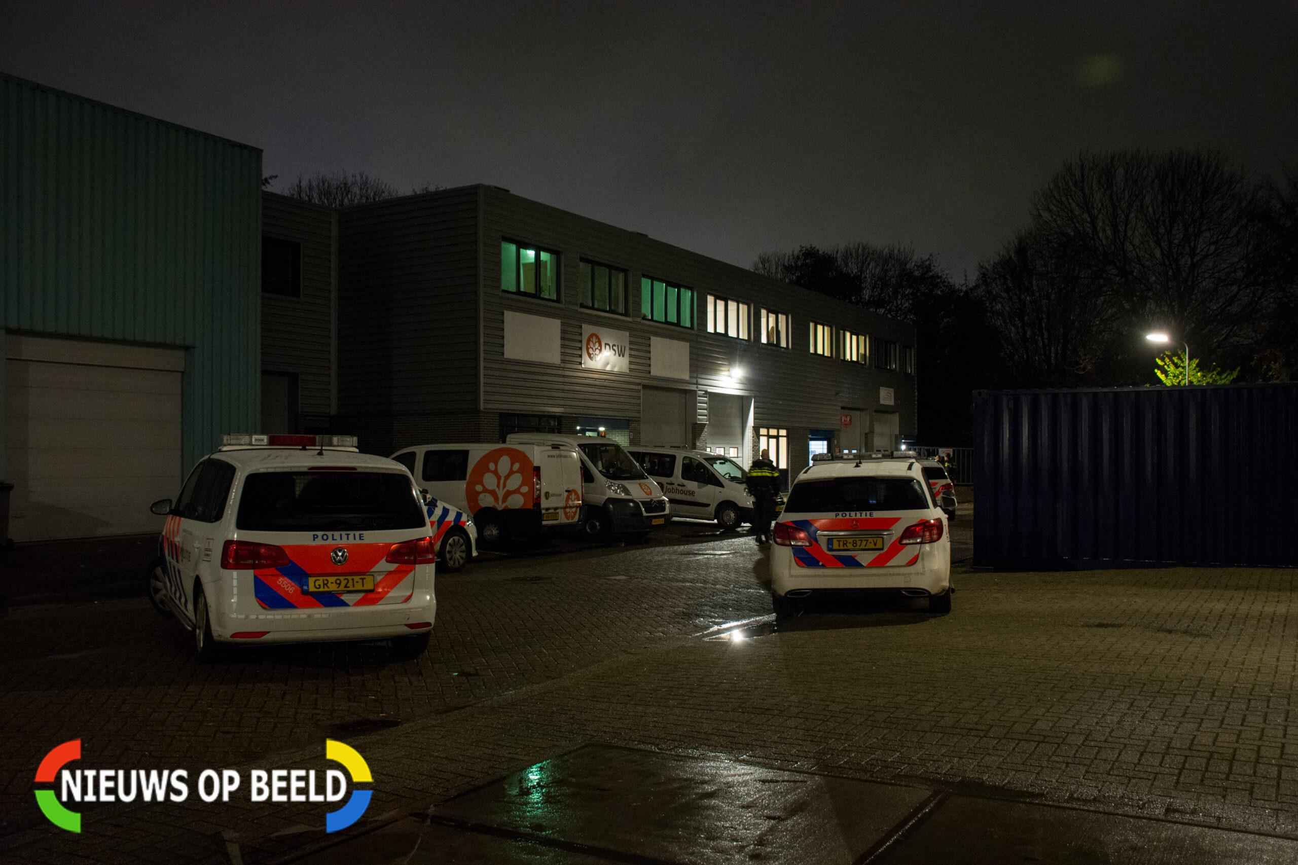 Schietincident op bedrijventerrein in Voorburg