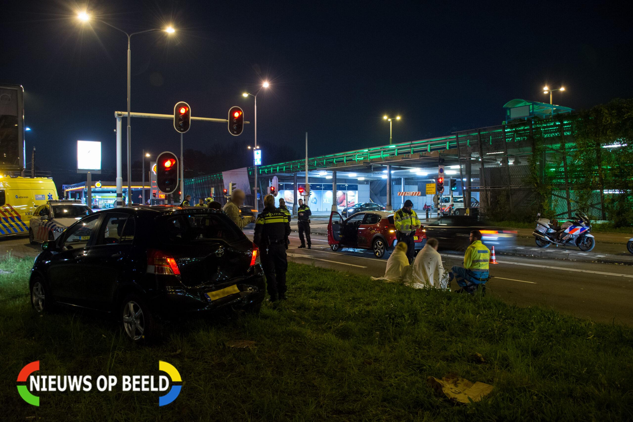 Meerdere gewonden na verkeersongeval Noordsingel Leidschendam