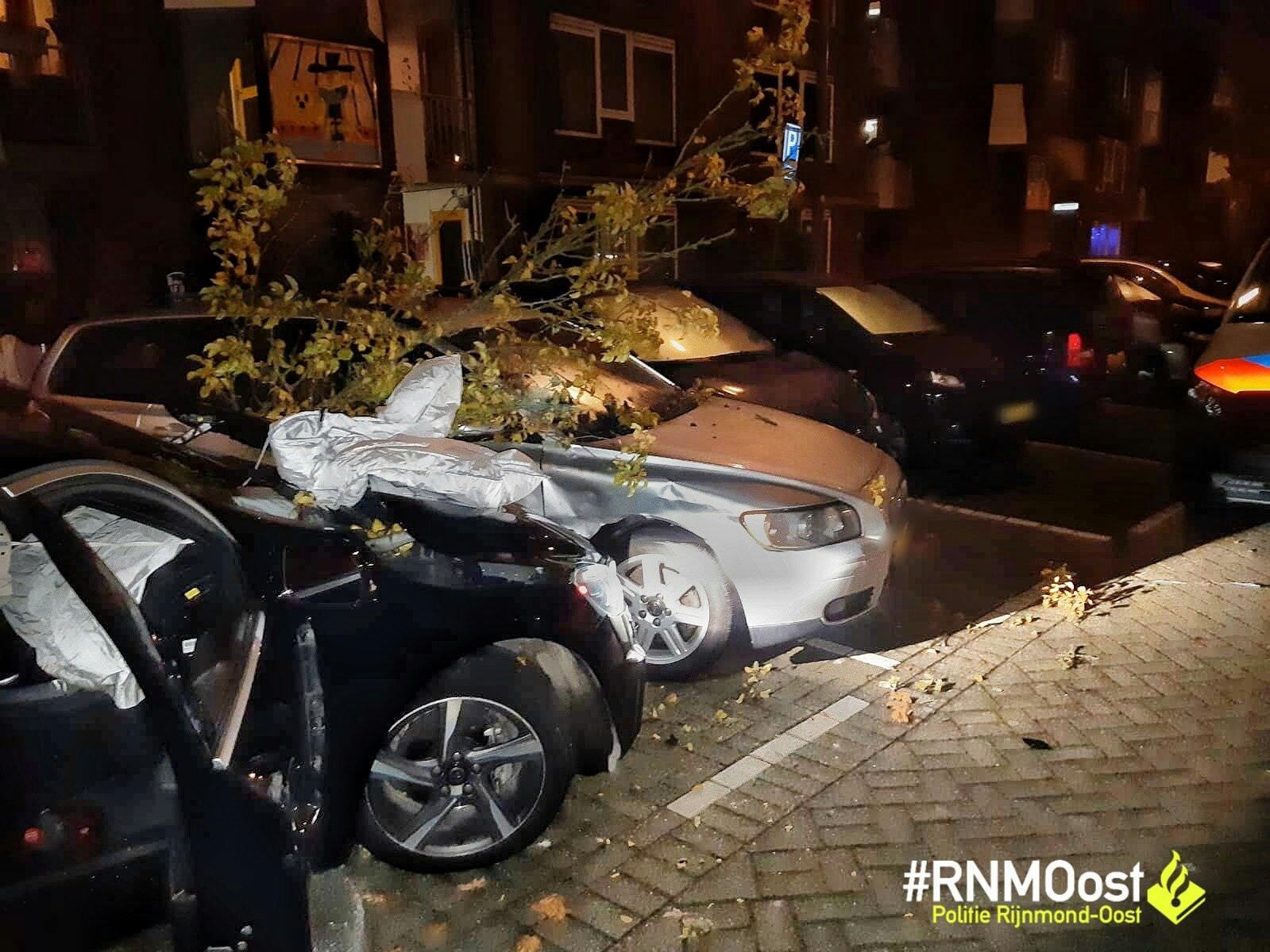 Man aangehouden voor huiselijk geweld en verlaten plaats ongeval Schollevaartse Dreef Rotterdam