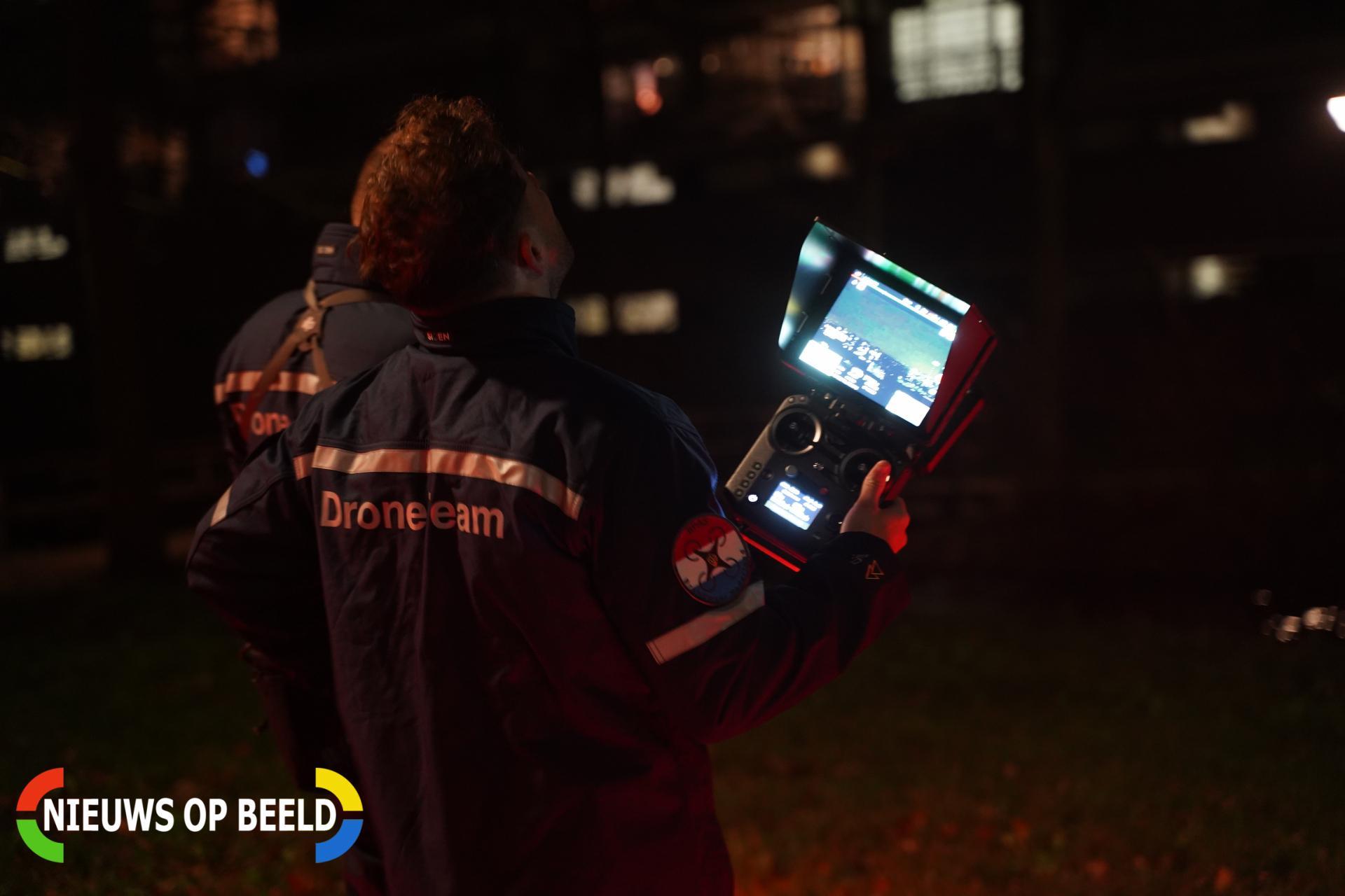 Brandweer verliest drone bij blussen van scheepsbrand in Rotterdam