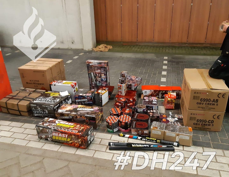 Kritiek op politie na in beslagname van honderden kilo's vuurwerk in woningen Poeldijk en Delft