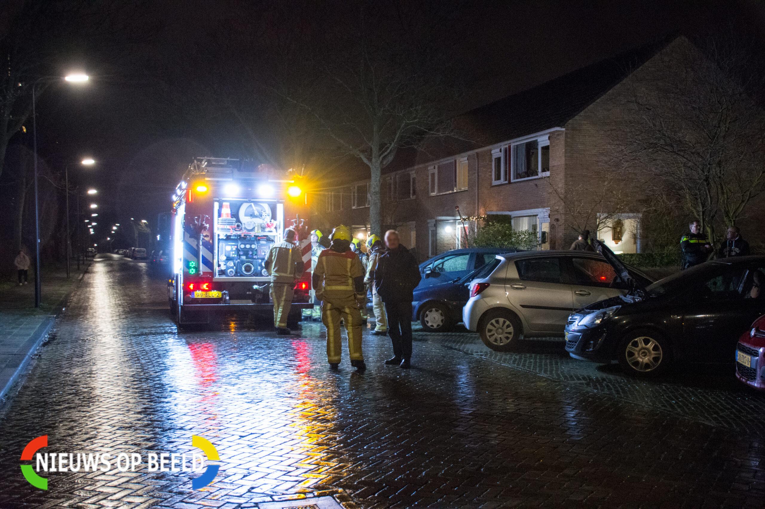 Tweede autobrand in korte tijd in Rijswijkse Klaroenstraat